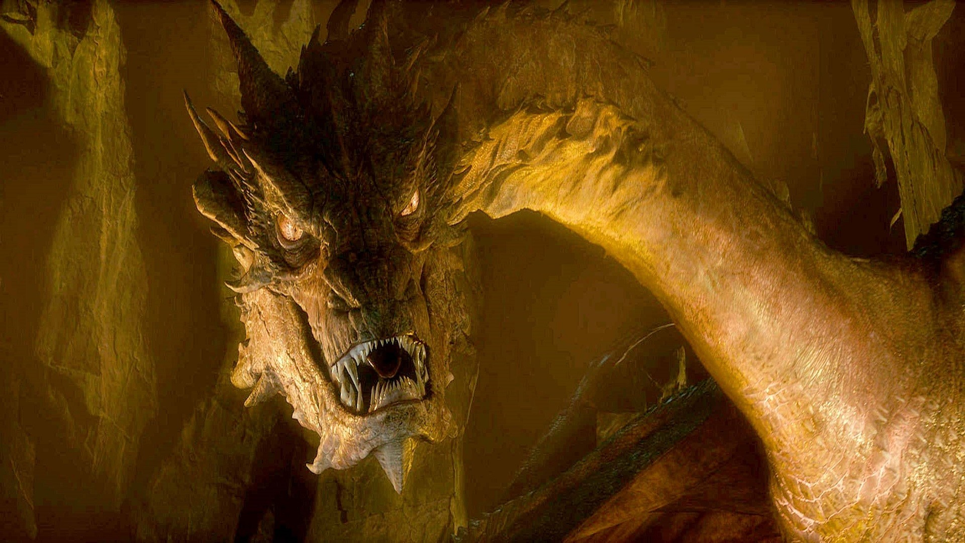 Image – The-Hobbit-The-Desolation-of-Smaug-Dragon-Wallpaper.jpg | Kristoff  and Anna's adventure series Wiki | FANDOM powered by Wikia