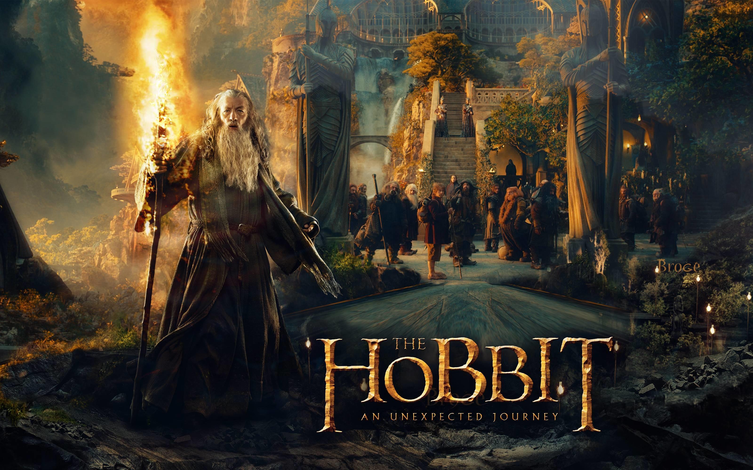 The Hobbit 2 Wallpaper Desolation Of Smaug HD