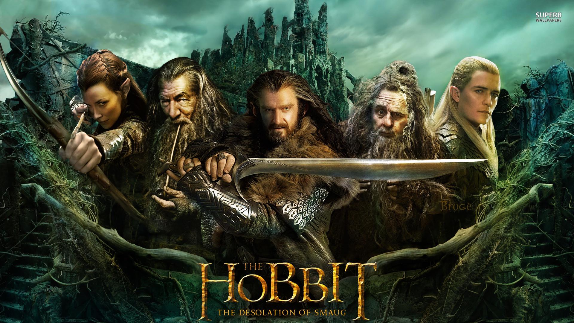 The Hobbit: The Desolation of Smaug wallpaper 1920×1080