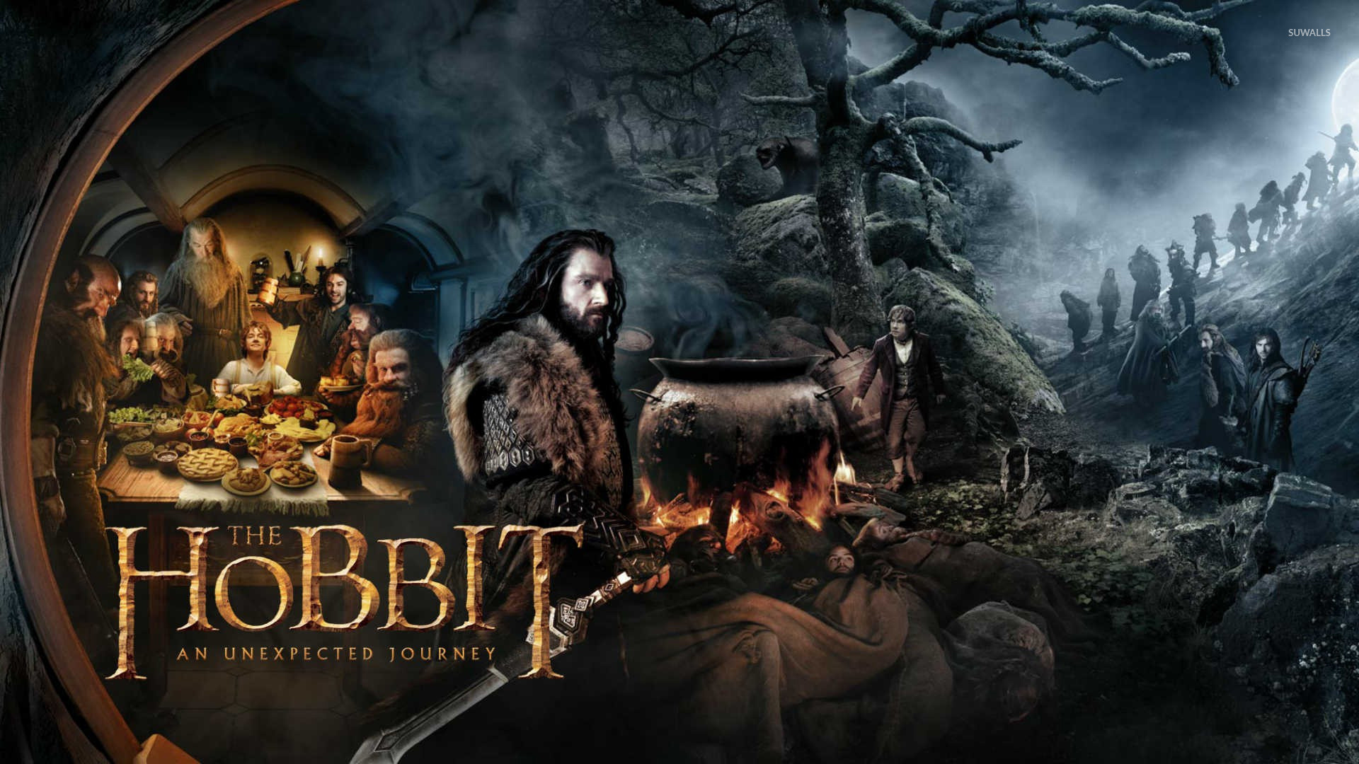 The Hobbit: An Unexpected Journey [7] wallpaper