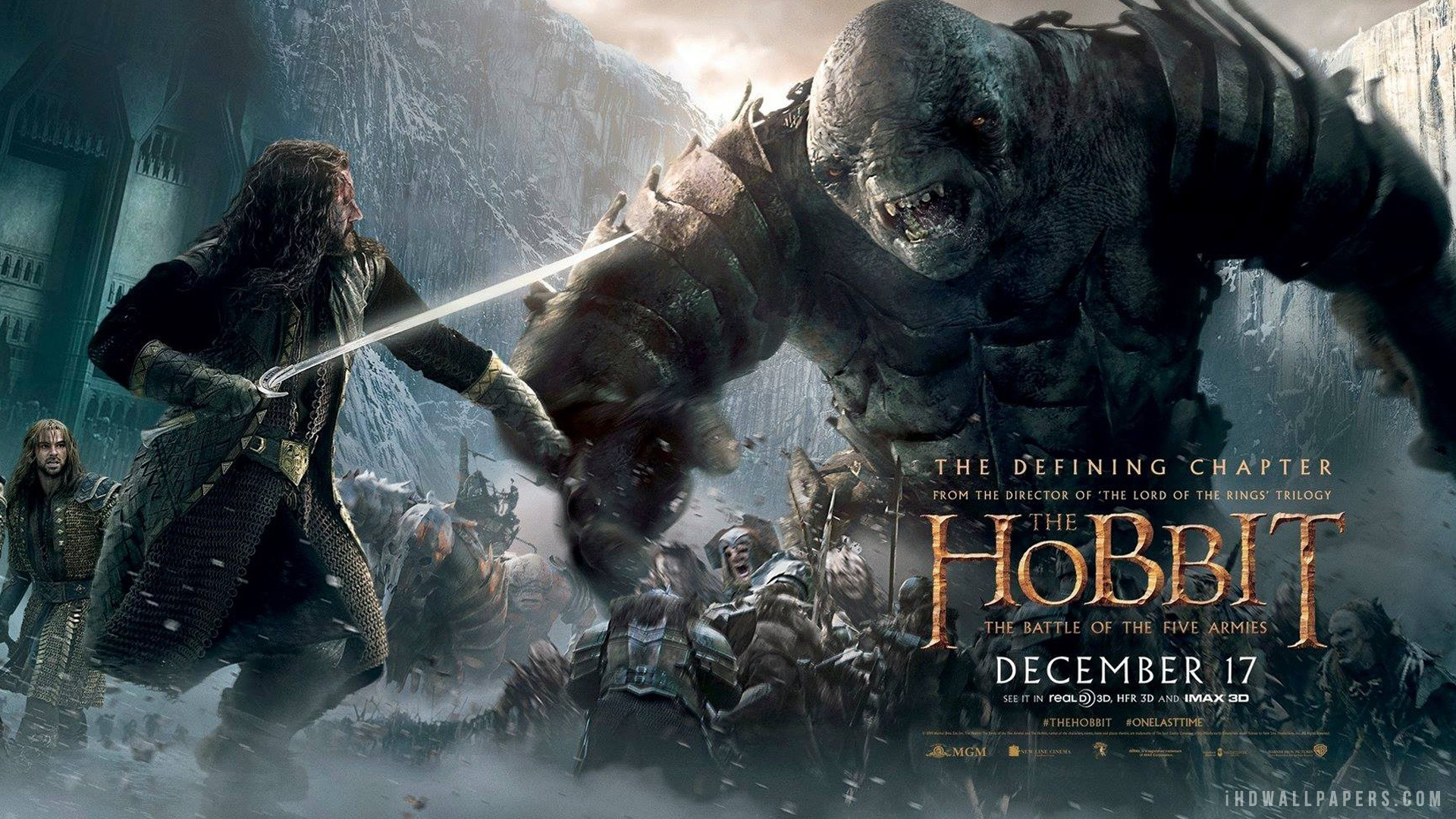 The Hobbit The Battle Of The Five Armies Wallpaper Full Hd As Wallpaper HD