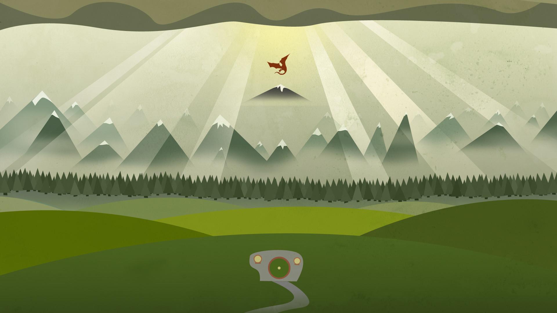 … Hobbit Wallpaper by tobi-muc