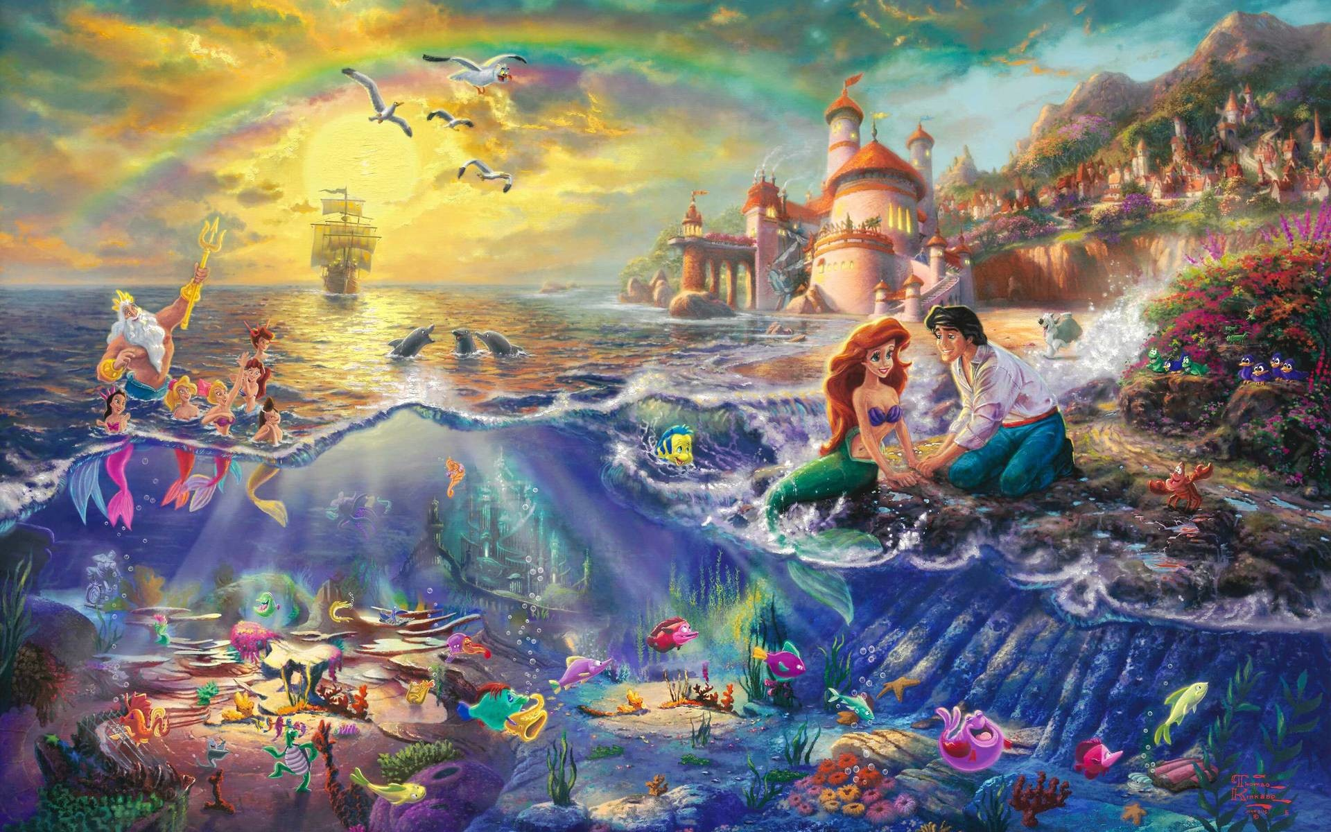 48 The Little Mermaid Wallpapers | The Little Mermaid Backgrounds