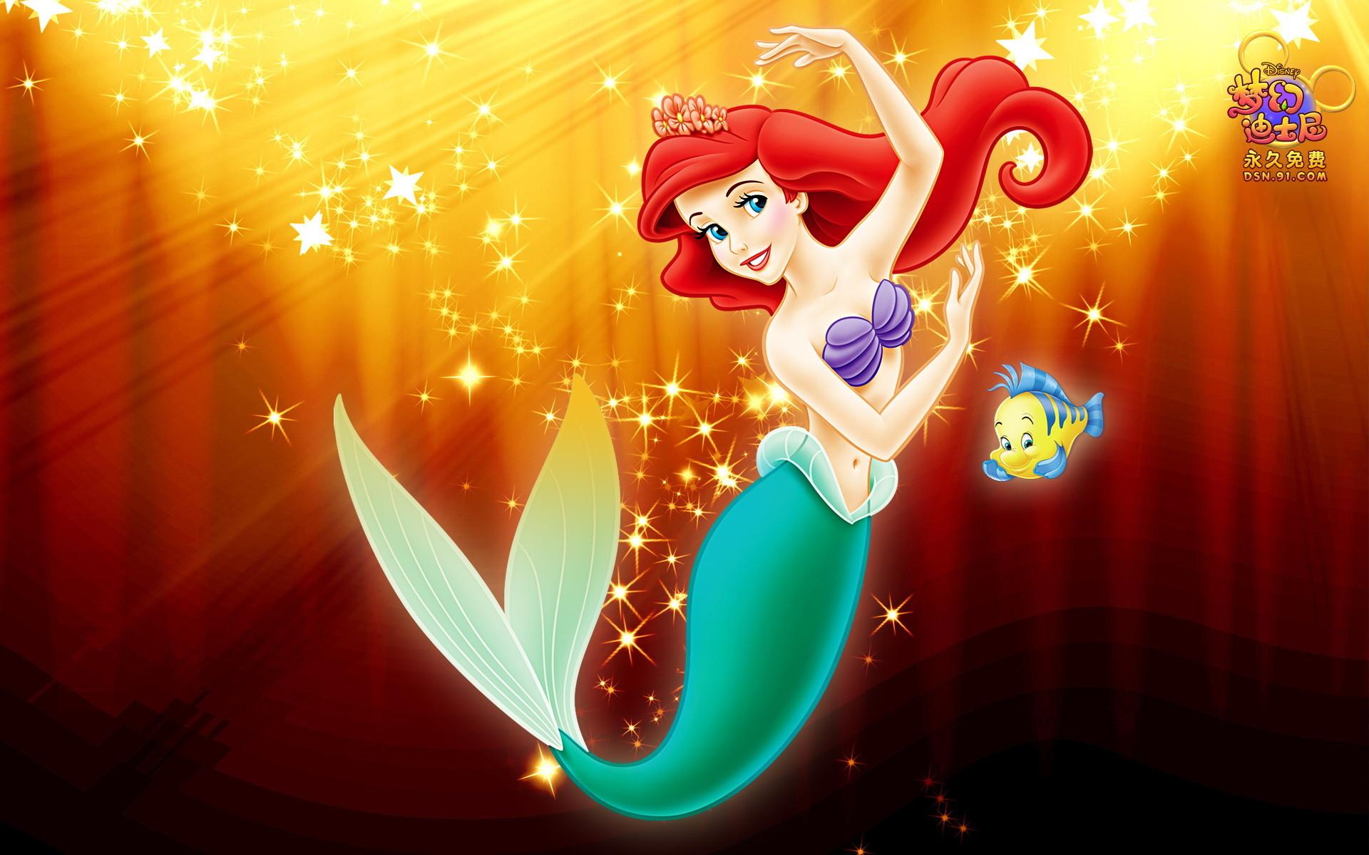 Cute Little Mermaid Wallpaper for Desktop (20)