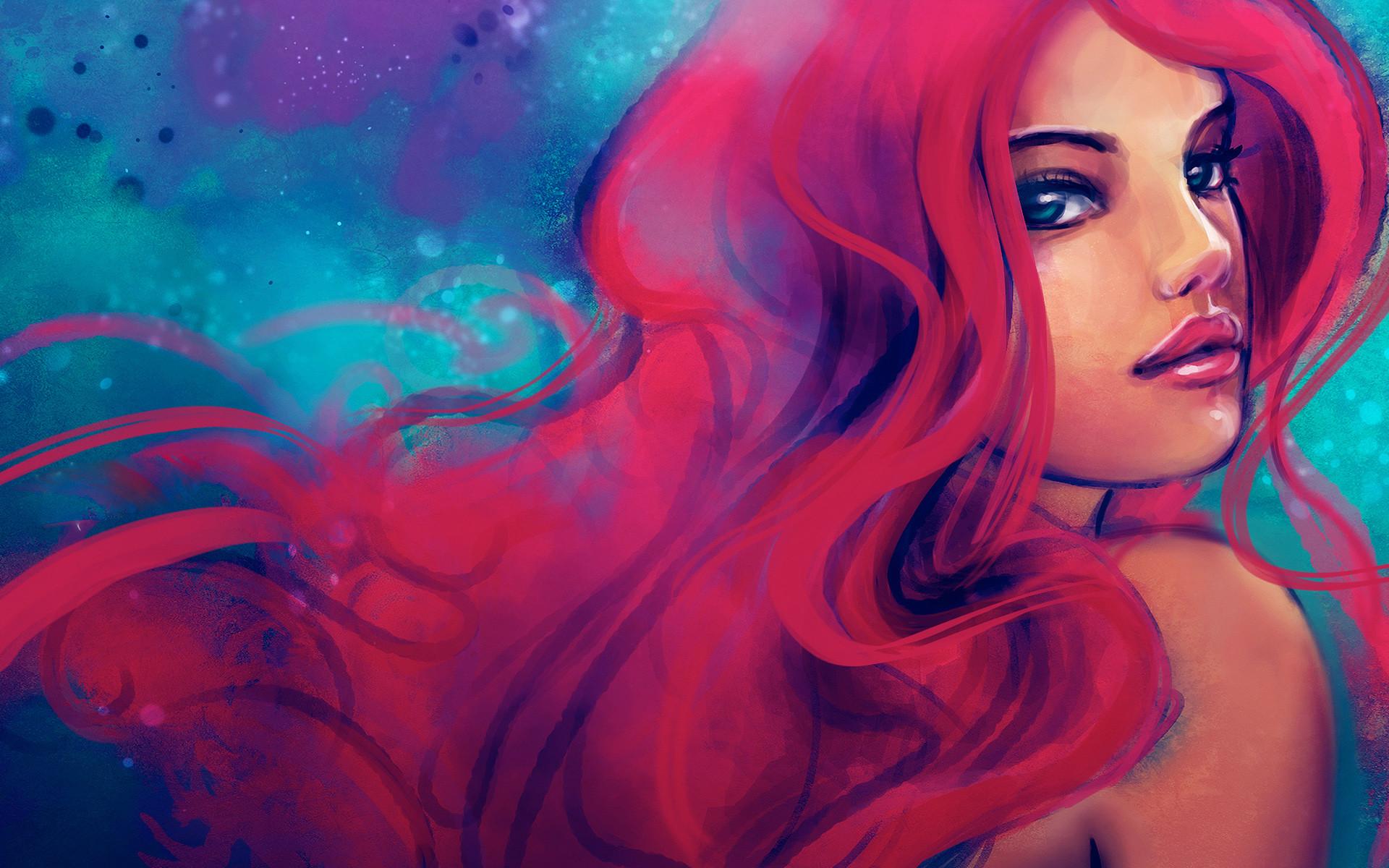 Free Desktop Mermaid Wallpapers Images Download.