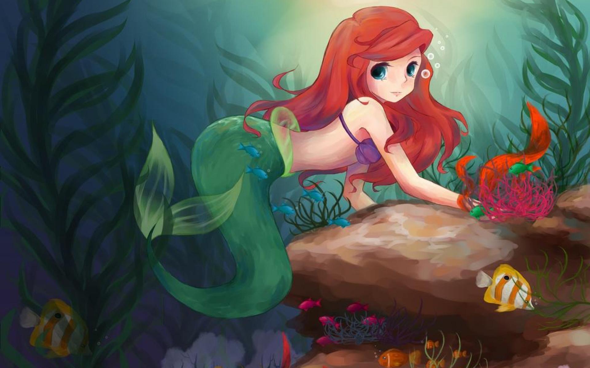 Desktop Mermaid Backgrounds.