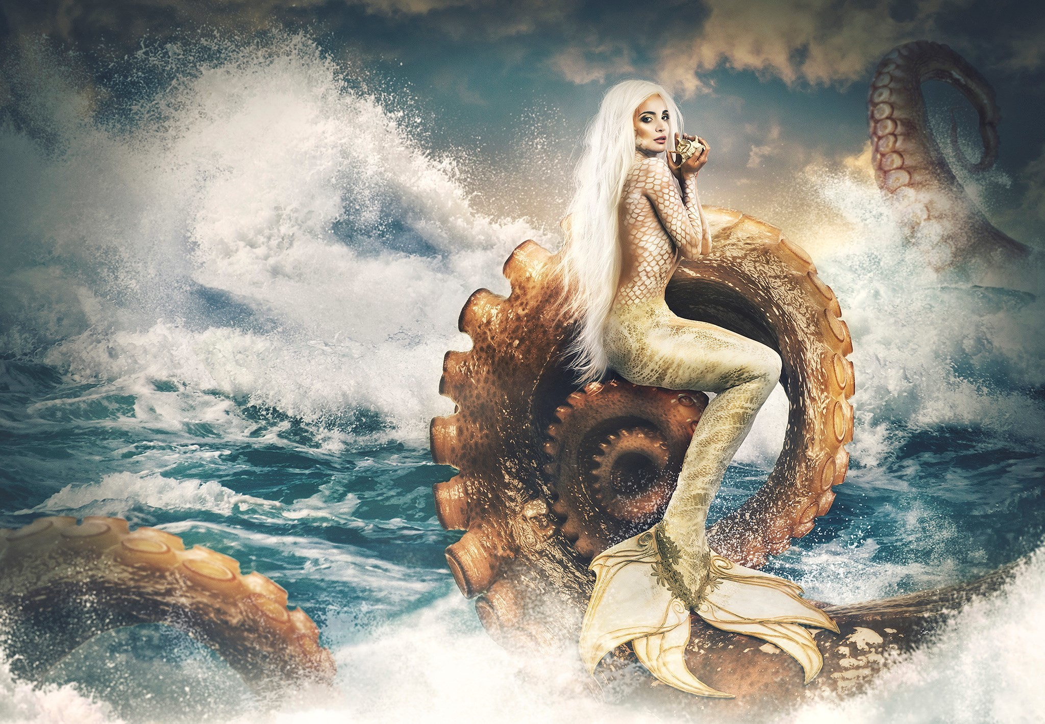 free computer wallpaper for mermaid