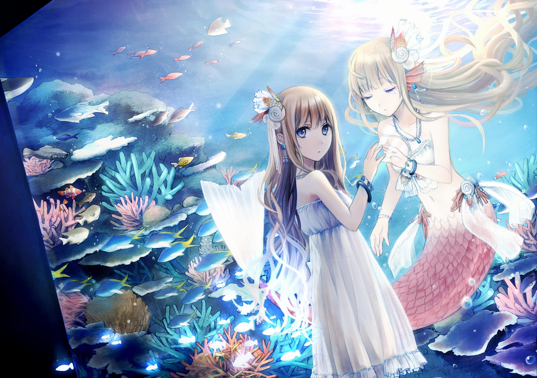 anime – mermaid Computer Wallpapers, Desktop Backgrounds | .