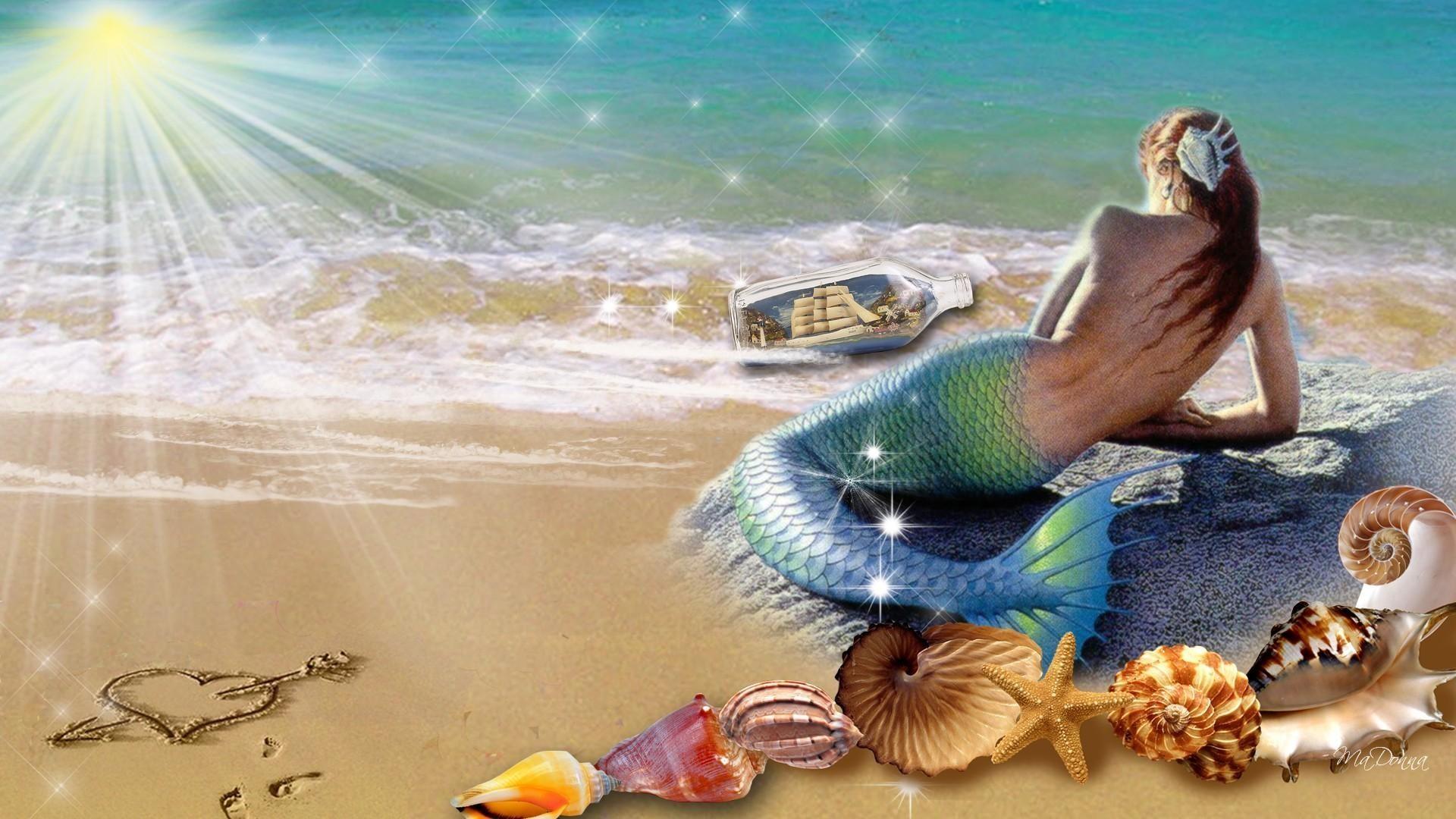 wallpaper desktop mermaid