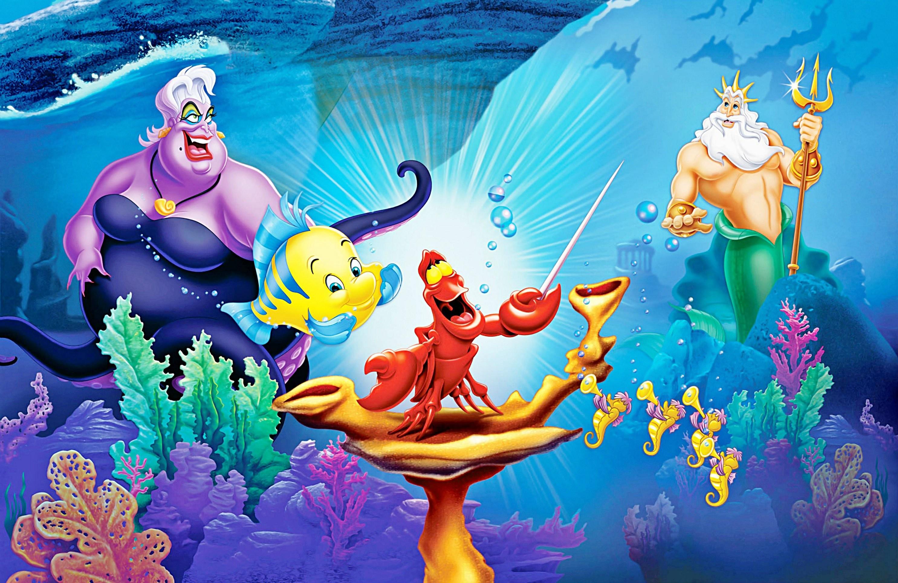 disney-princess-ariel-mermaid-wallpaper-3.jpg (2971×1929) | wallpaper |  Pinterest | Ariel, Funny pictures and Disney minimalist