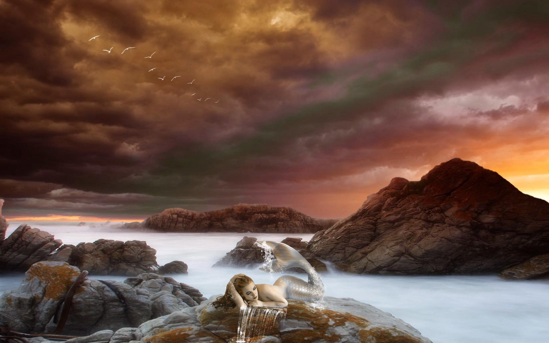 Fantasy – Mermaid Wallpaper