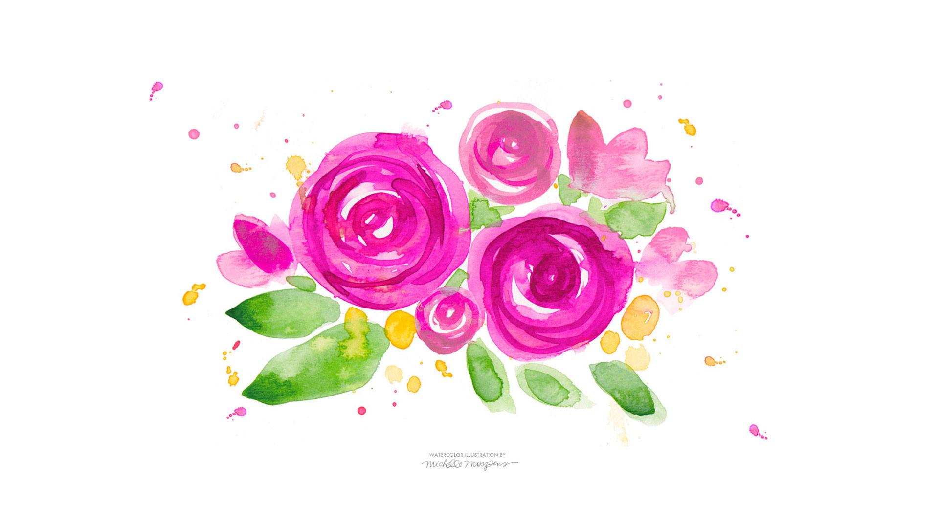 Blossom-Burst-Desktop-Download-1920-1080.jpg (1920×1080) | Artsy |  Pinterest | Wallpaper backgrounds, Watercolor and Wallpaper