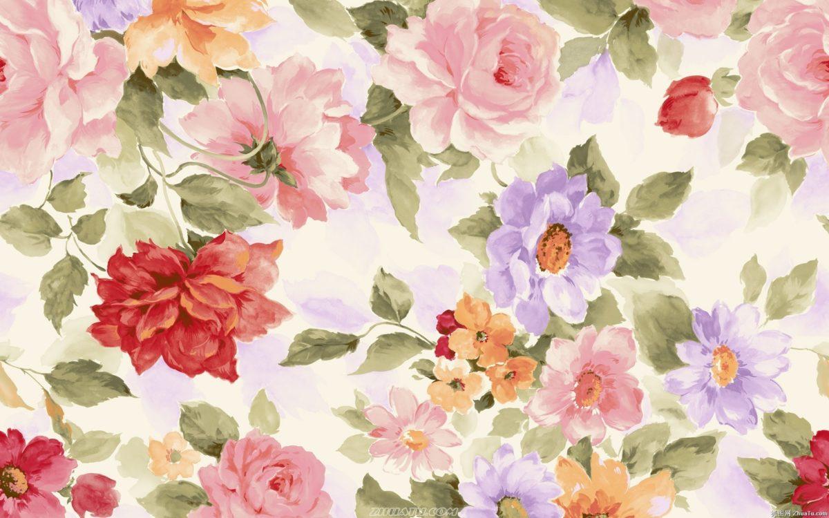 Watercolor Flower Hd Wallpaper