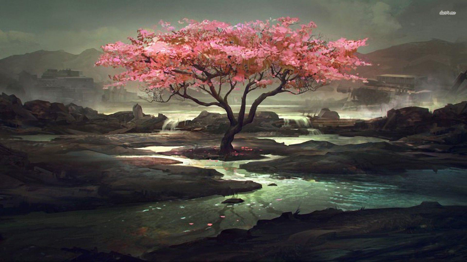 Creekside cherry tree Artistic HD desktop wallpaper, Tree wallpaper, Cherry  wallpaper, Blossom wallpaper, Creek wallpaper – Artistic no.