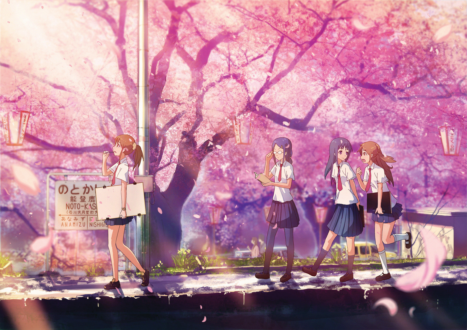 … sakura tree anime wallpaper …