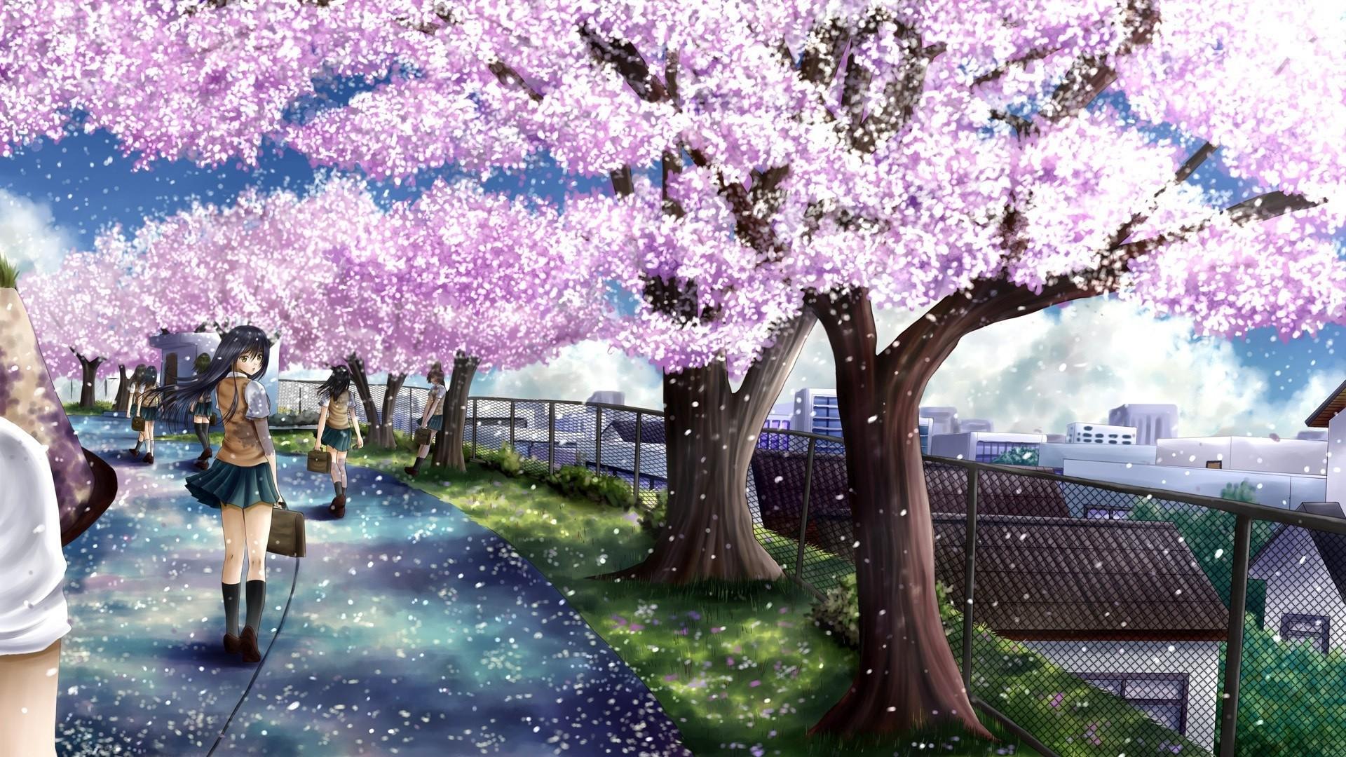sakura tree gif – Buscar con Google