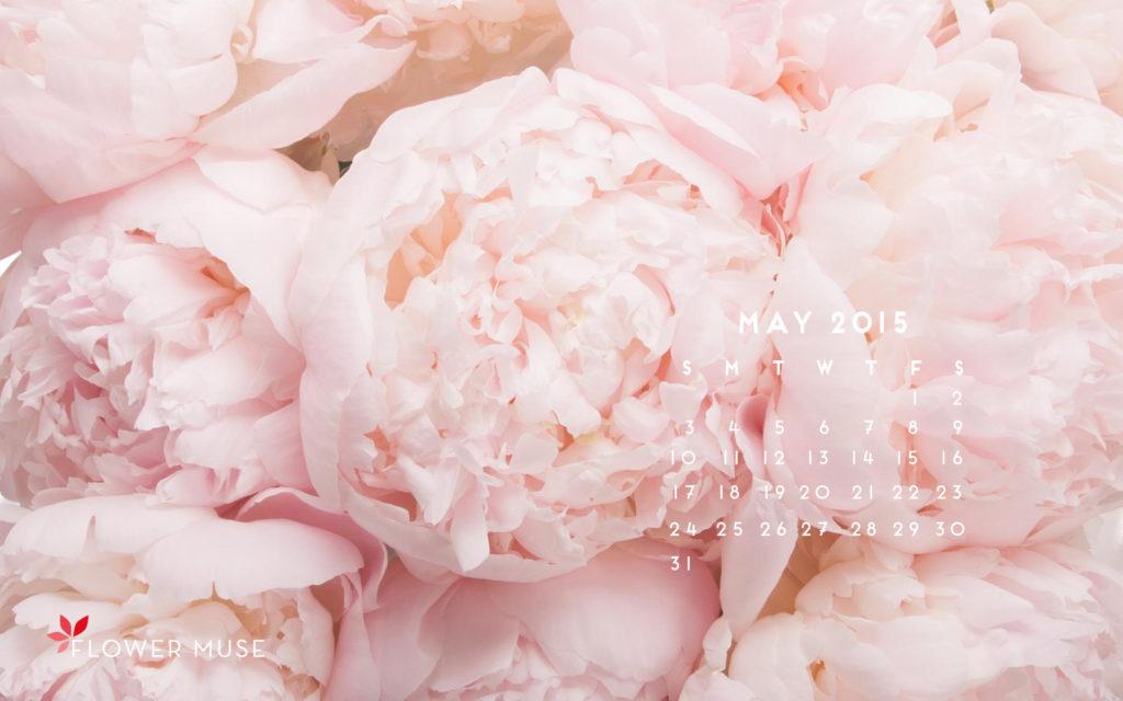 Behind the Scenes at a Peony Farm May 2015 Calendar