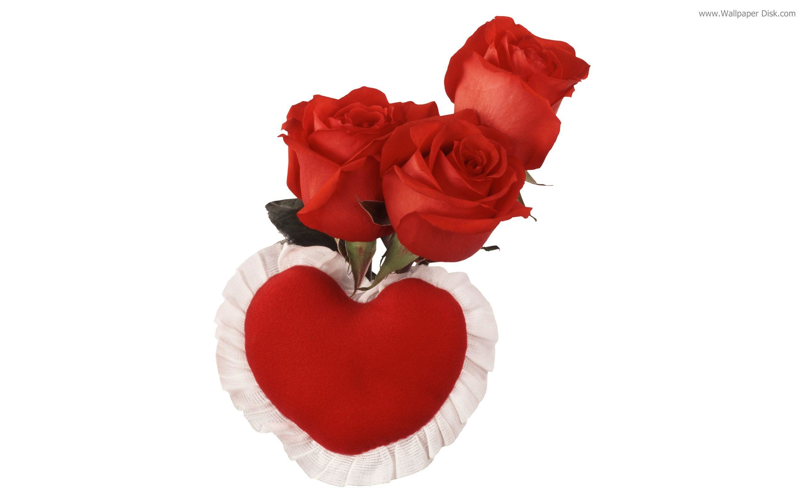 Red Rose Heart Wallpaper – Viewing Gallery