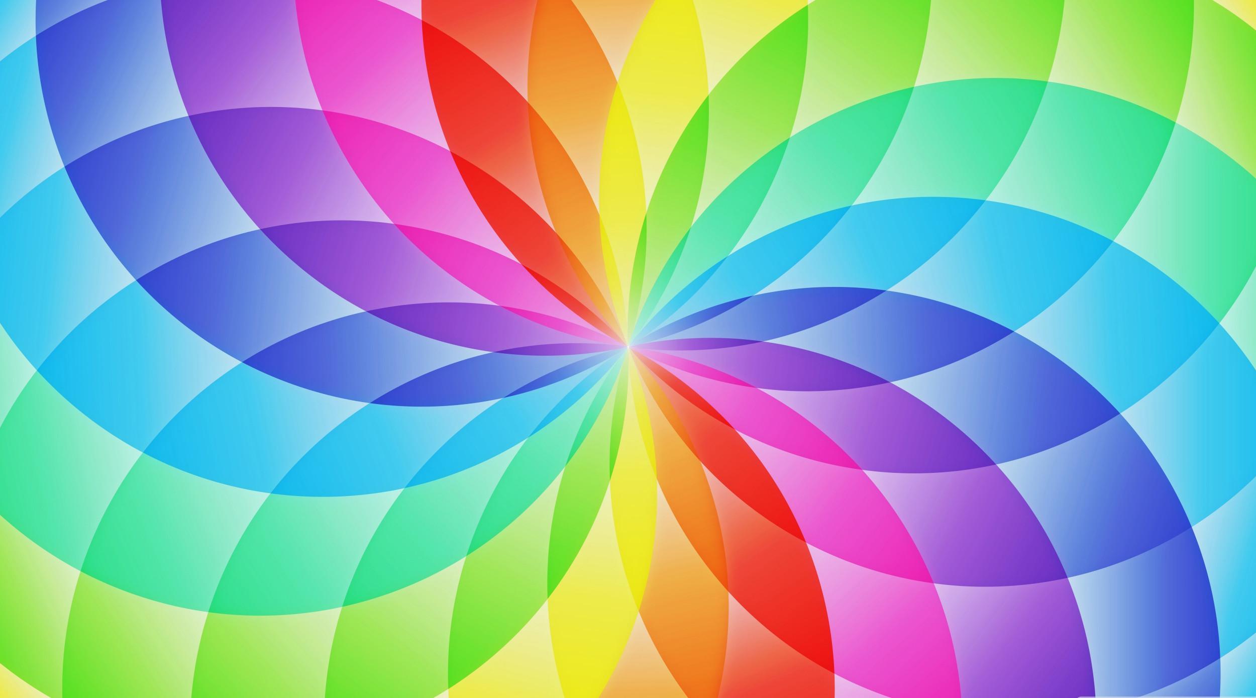 0 Rainbow Desktop Wallpaper HD Rainbow Flower Wallpapers Full HD Flower  Rainbow Moon Black Pastel .