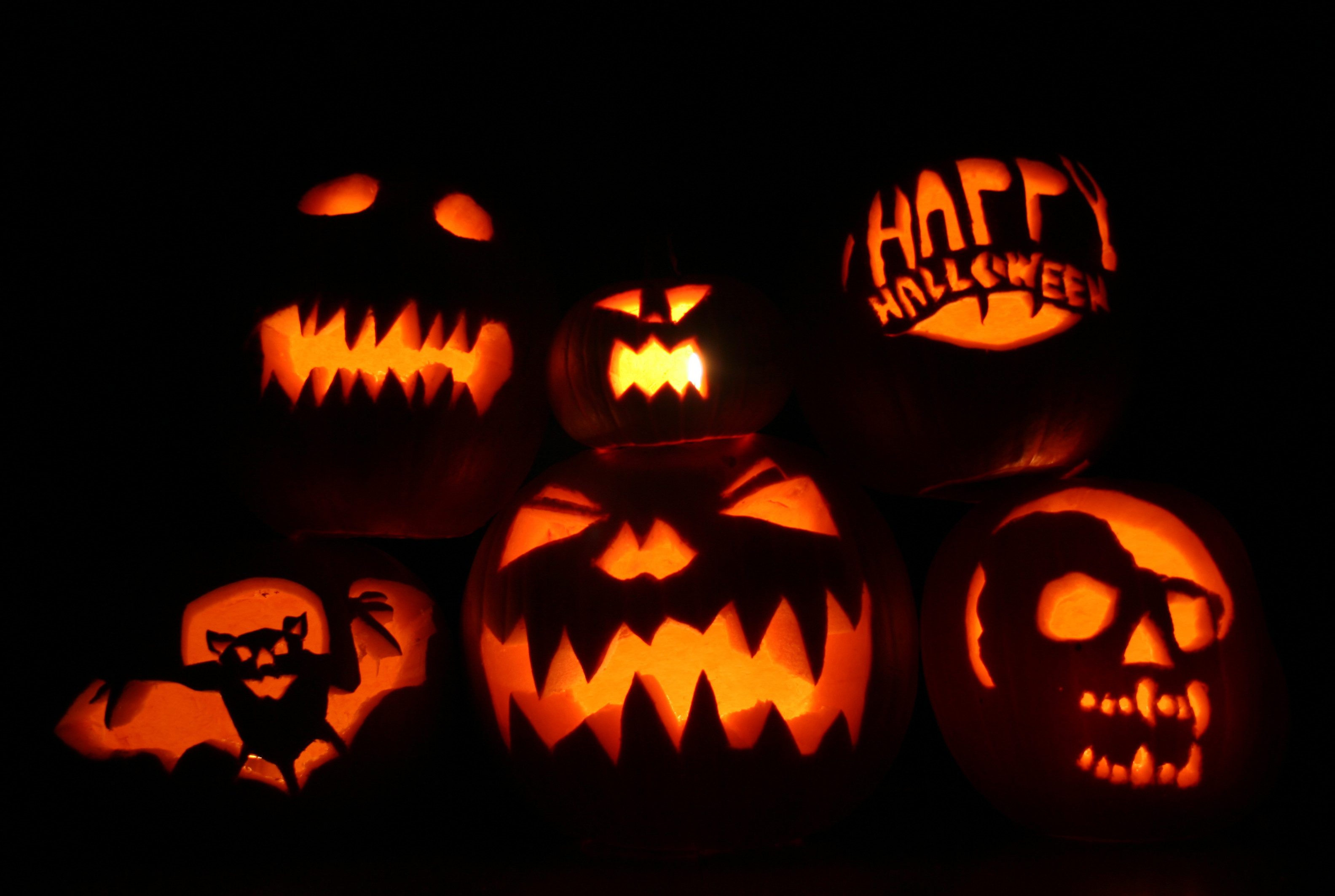 Dark Halloween Pumpkin HD Wallpapers.