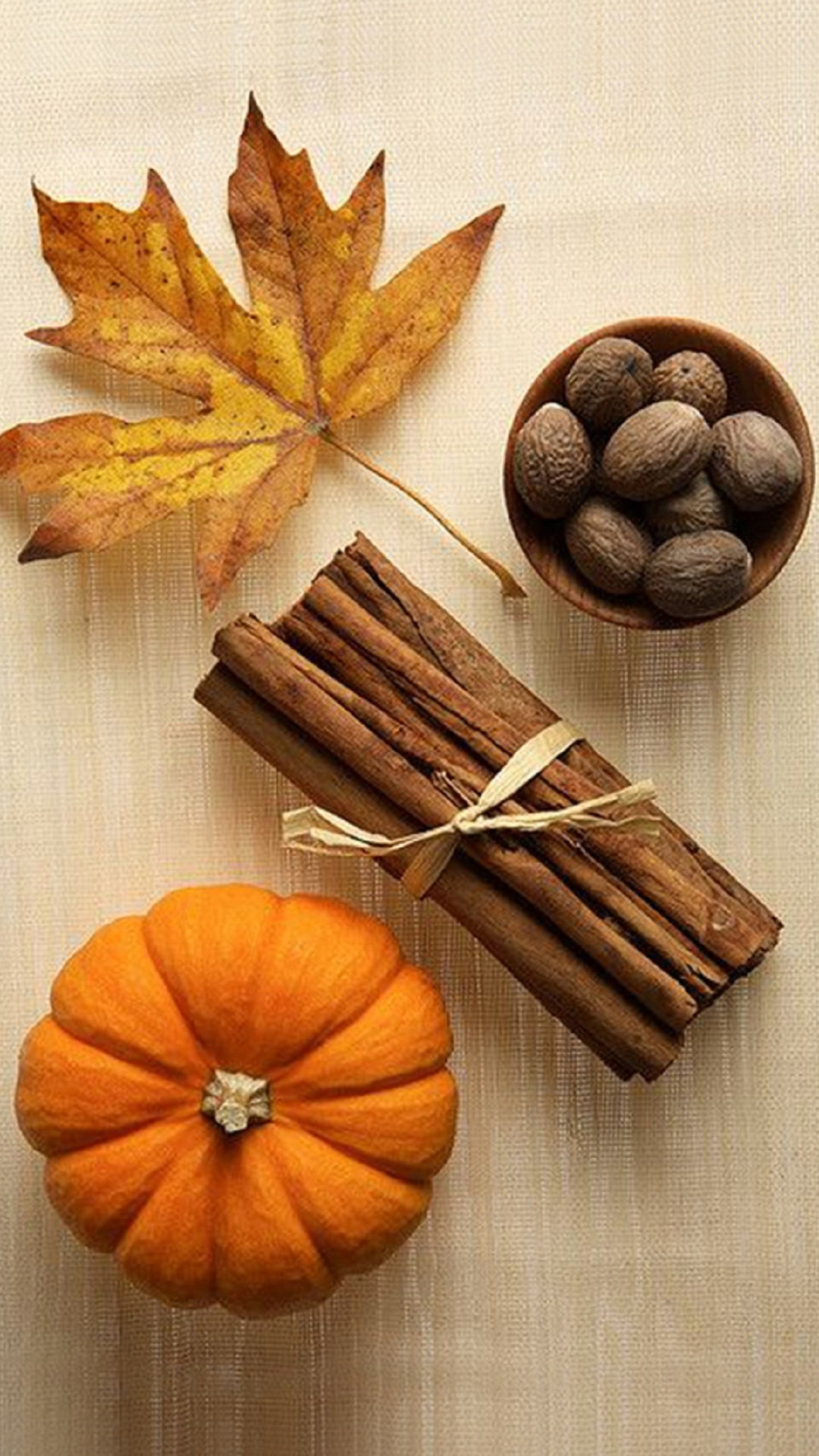 Pumpkin & Spices – Tap to see more of the top colorful Autumn wallpapers!