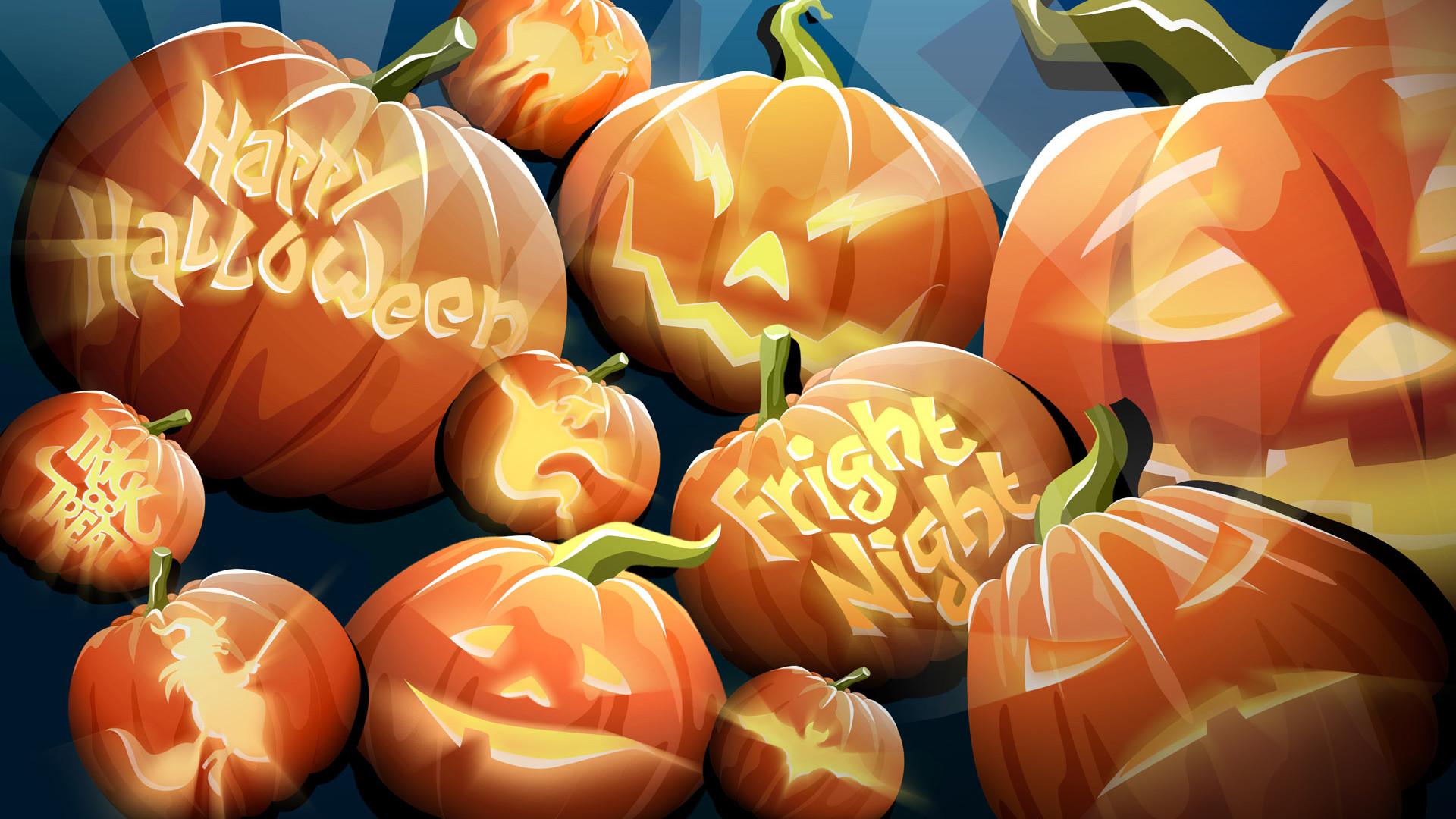 Autumn Pumpkin Wallpaper HD wallpaper background