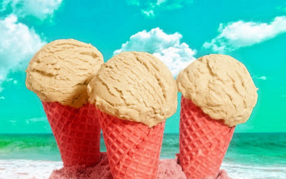 Softy Cone Ice Cream For Kids HD Wallpaper #01552