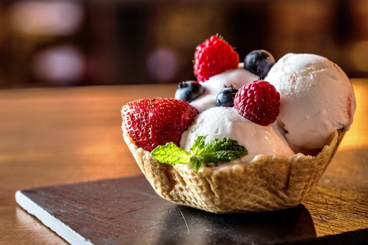ice cream sweet dessert delicious yammy berries raspberry ice cream dessert  sweet raspberry strawberry blackberry berries