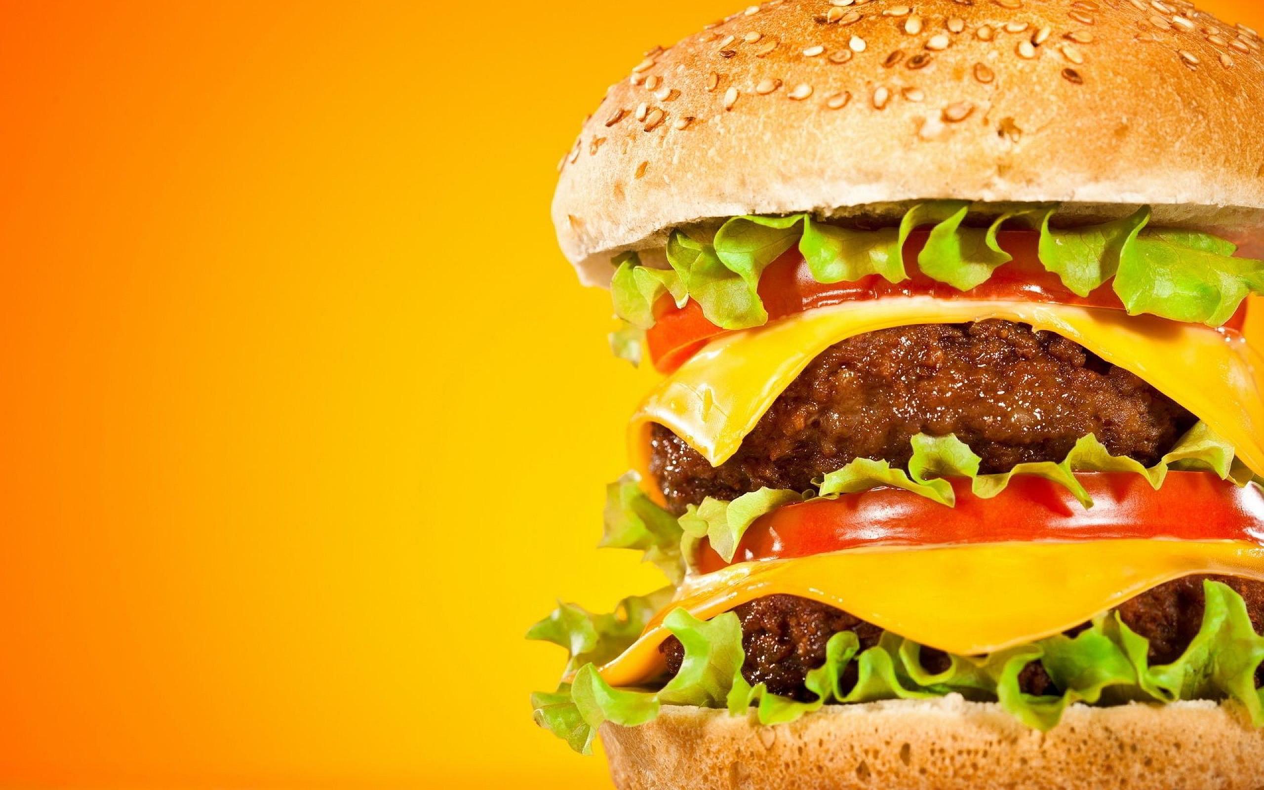 2304 Cheeseburger Wallpaper HD