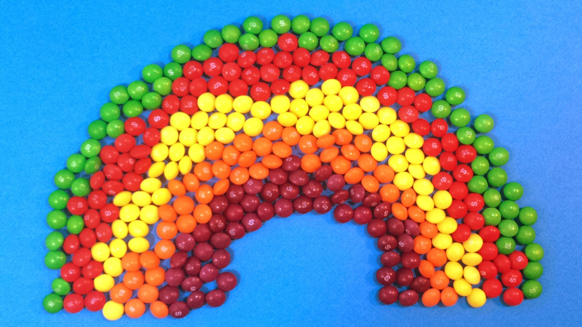 New Learn Colours with Skittles Candy Rainbow and Surprise Balls! Lesson 5