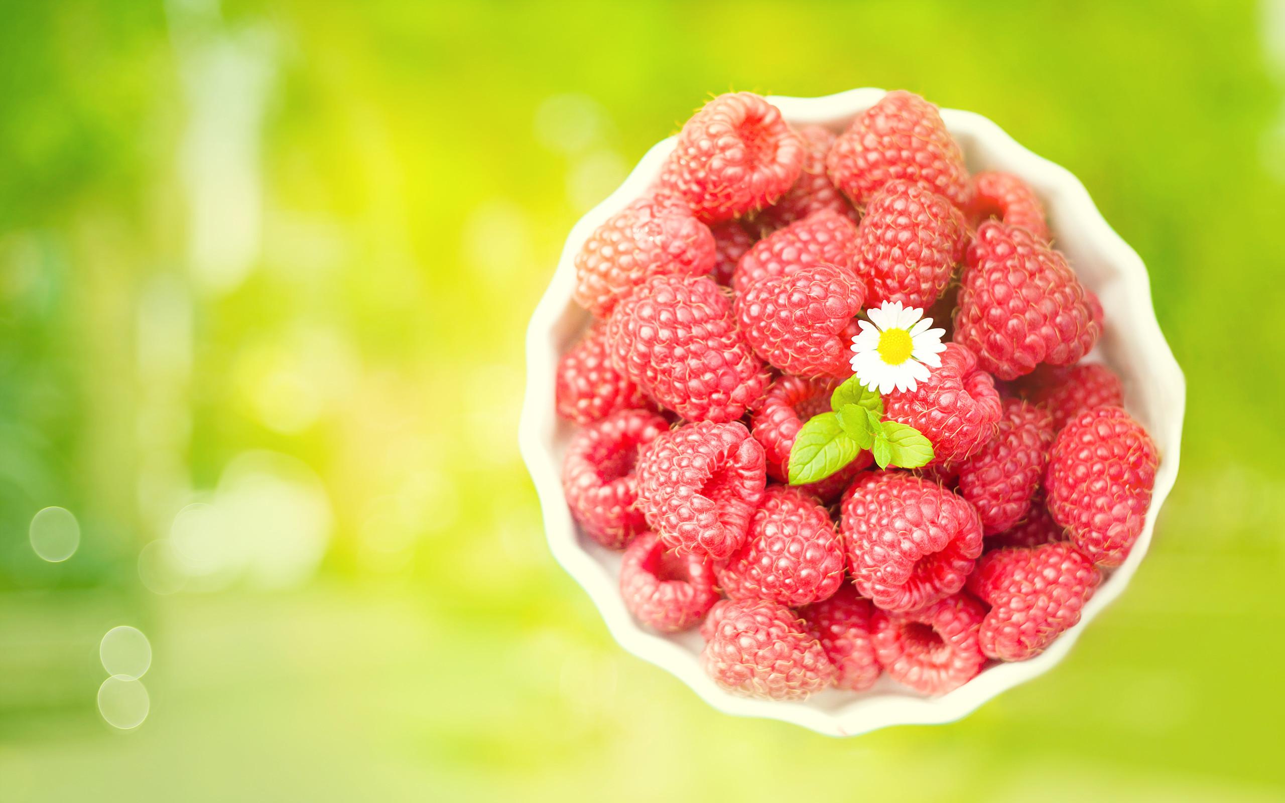 Cute Raspberries Wallpaper