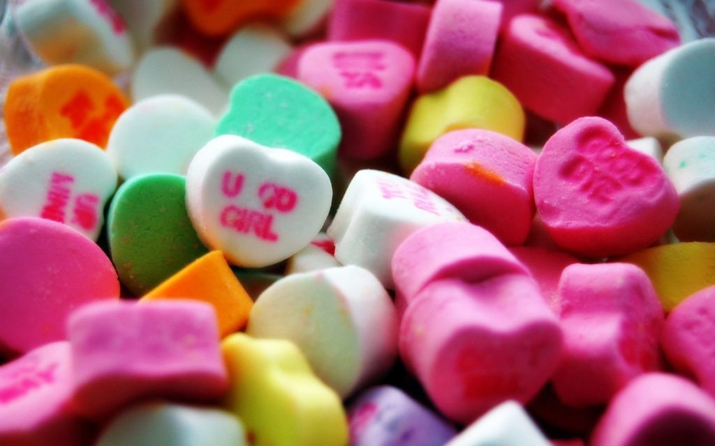 Valentine's day hearts candy wallpaper | | 47717 |  WallpaperUP
