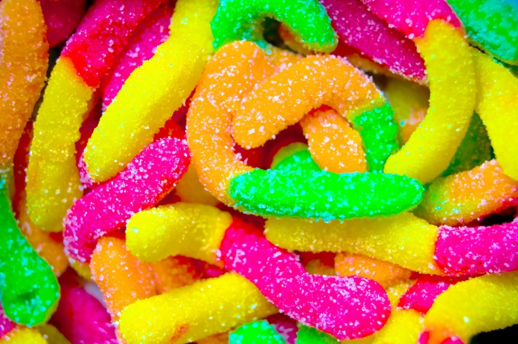 Colorful Sugar Coated Candies