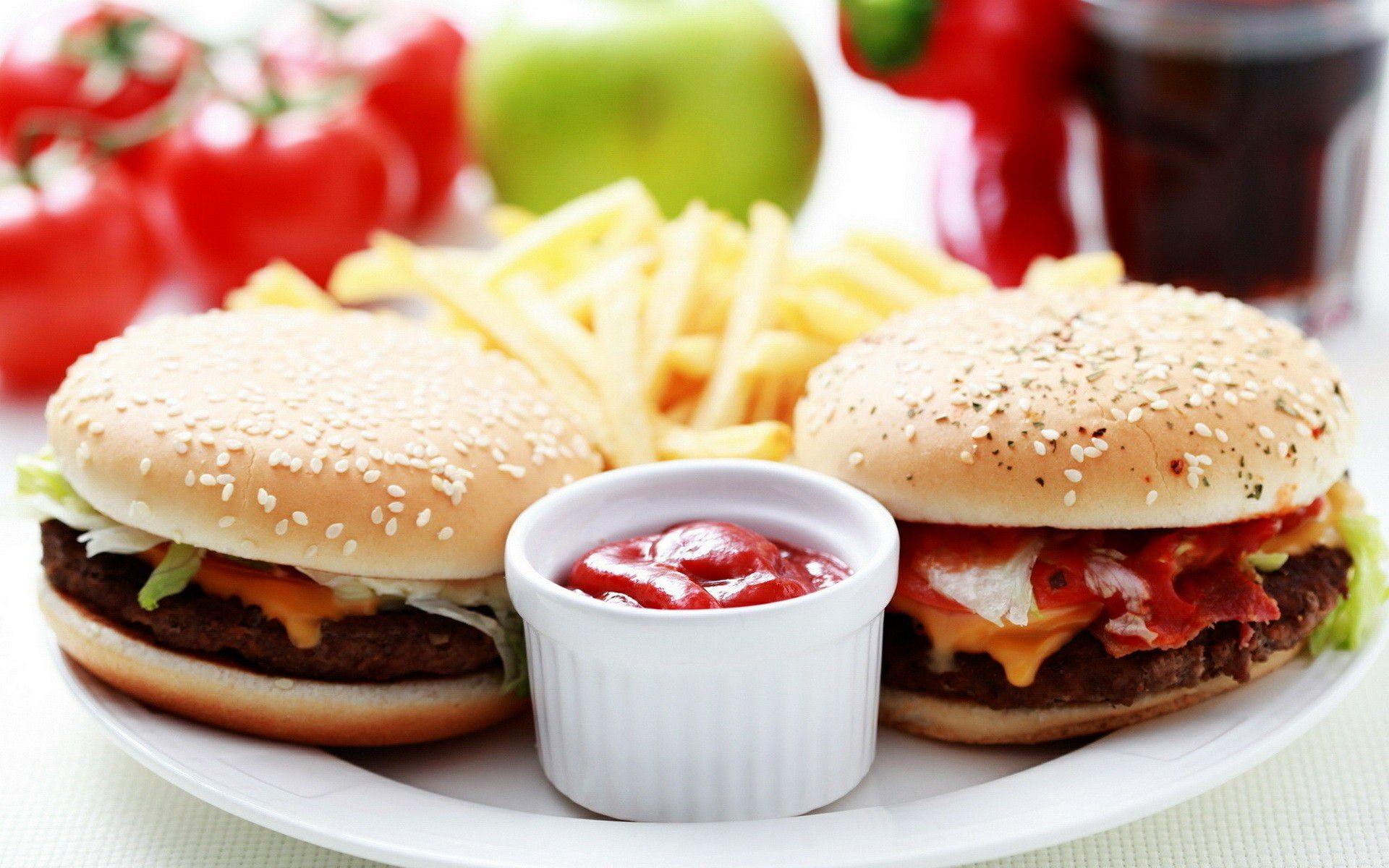 Food background wallpaper