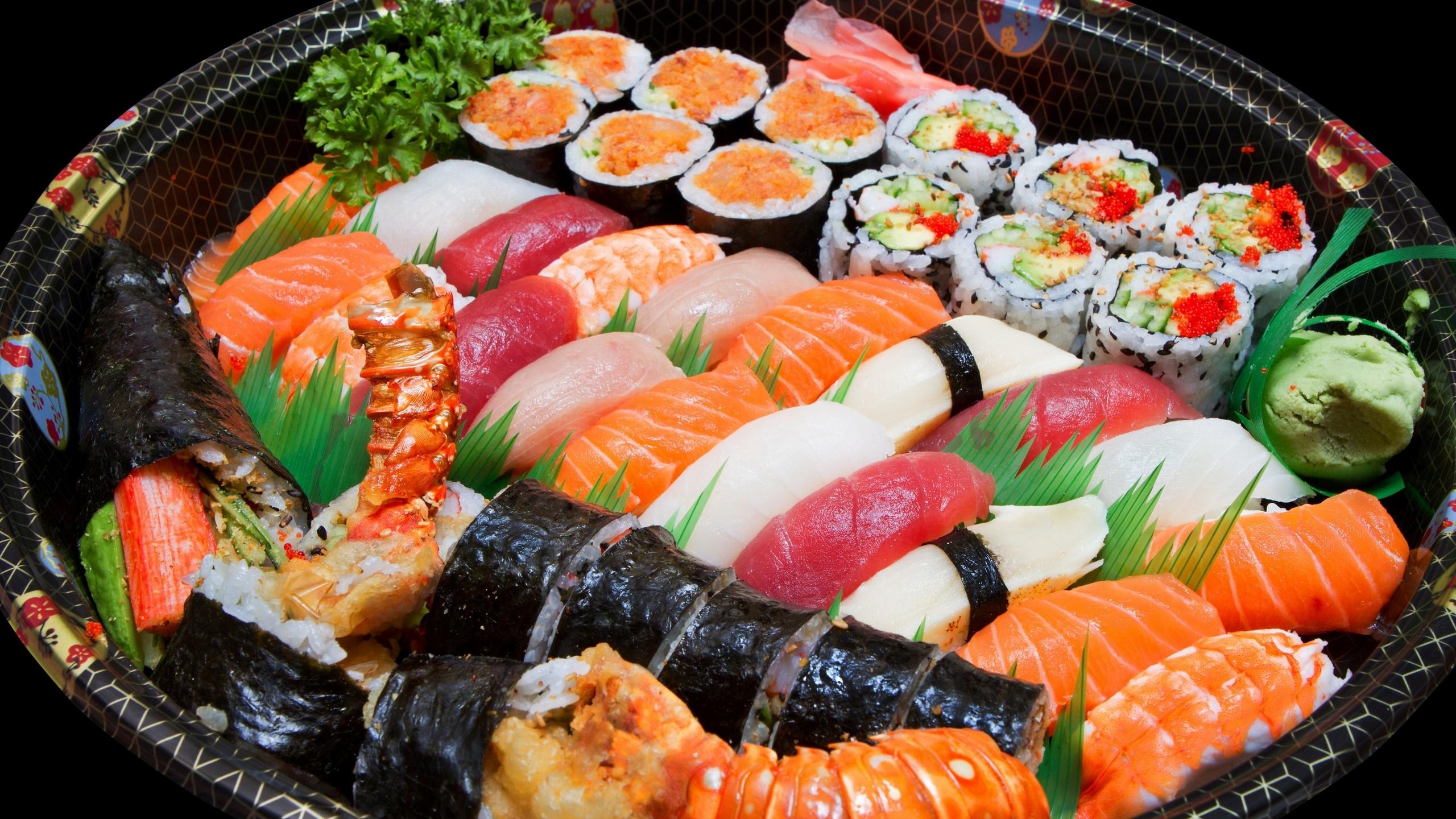 Sushi Food Wallpaper Background 49725