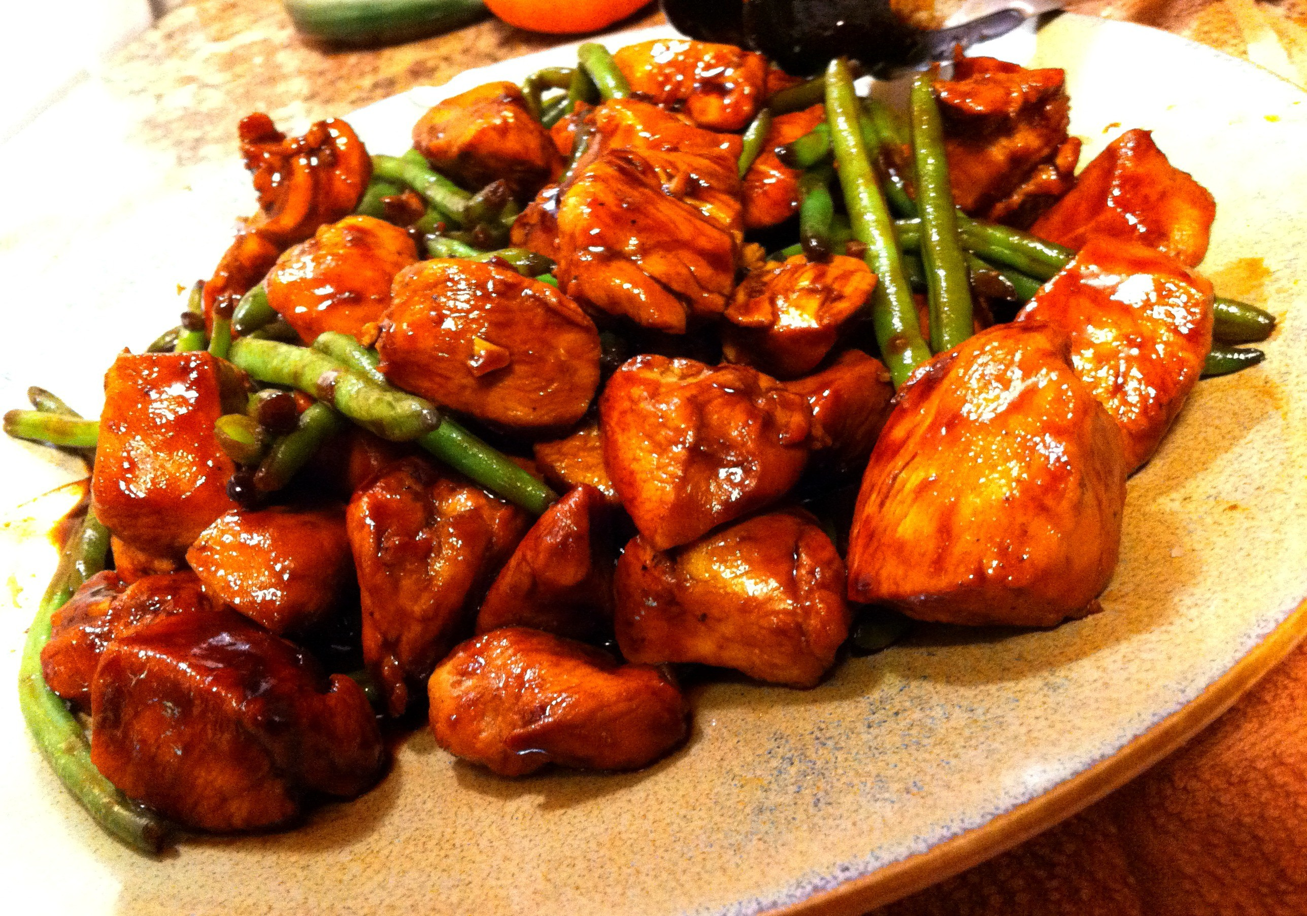 Asian Chicken Food Wallpaper Background 60025