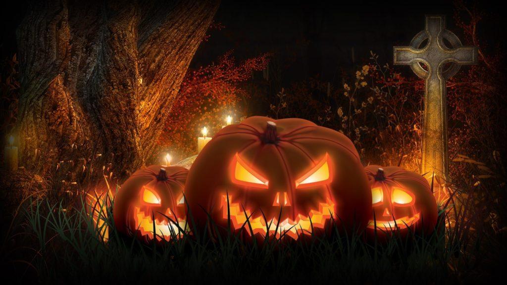 Facebook Halloween Jack Pumpkin Backgrounds.