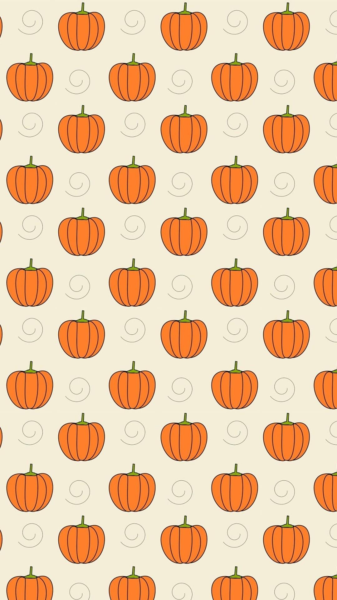 Pumpkins – Tap to see more cute halloween wallpaper! | @mobile9