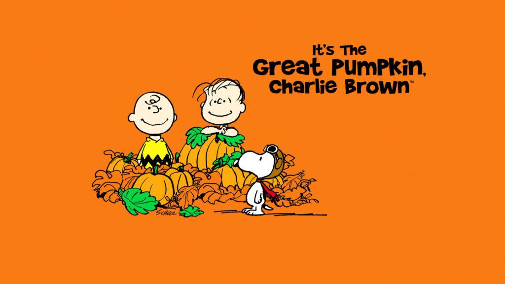 Great Pumpkin Charlie Brown Background HD.