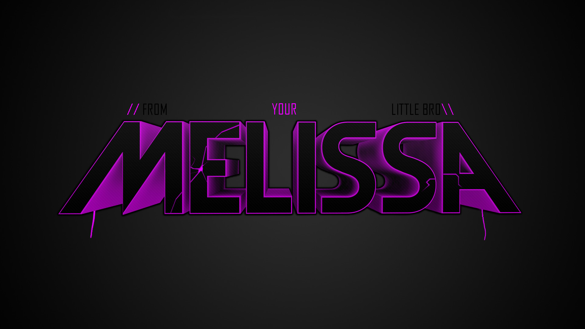 Melissa Name Wallpaper. Find this Pin and more on M …