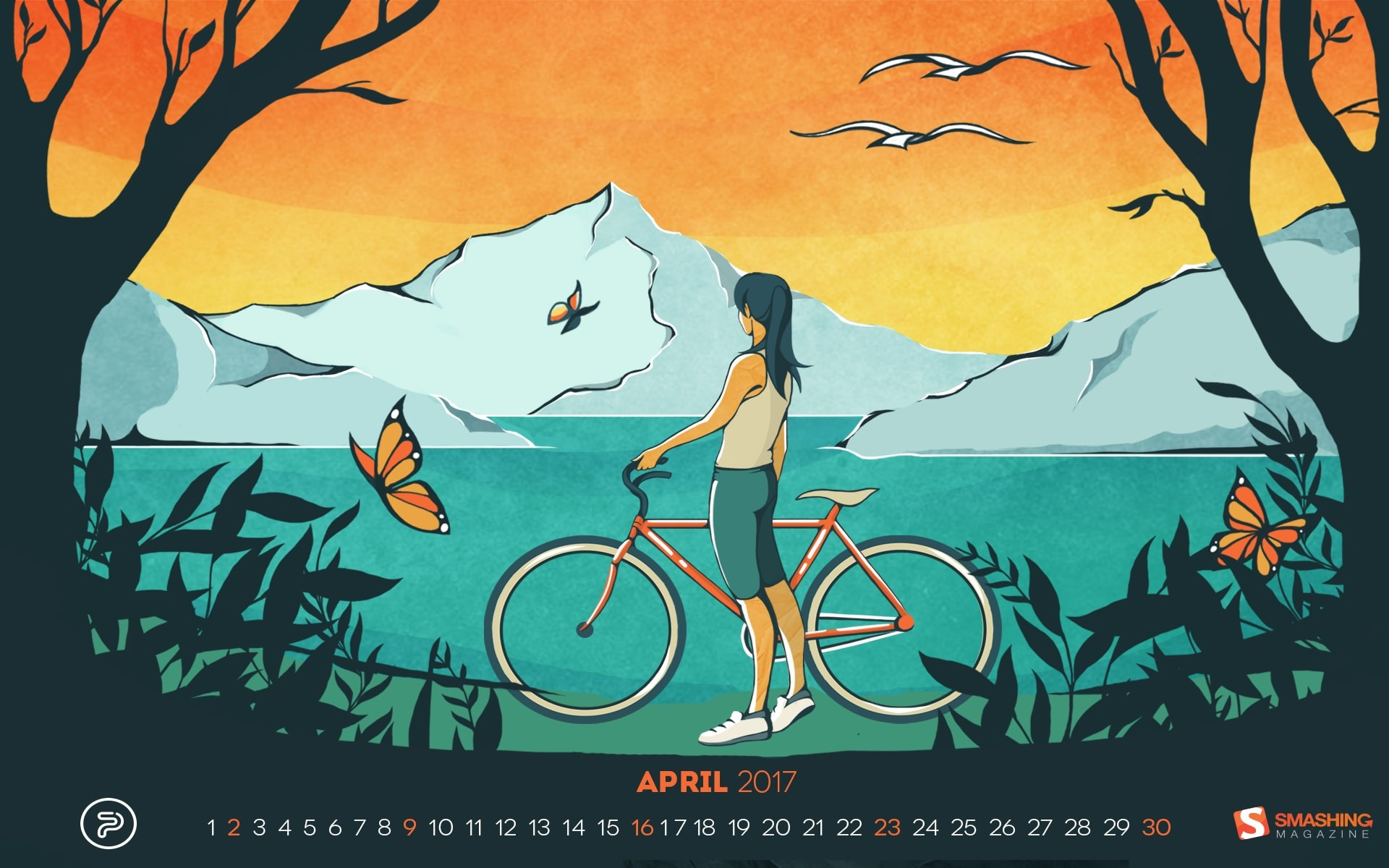 """April Is The Nicest Month. """""""