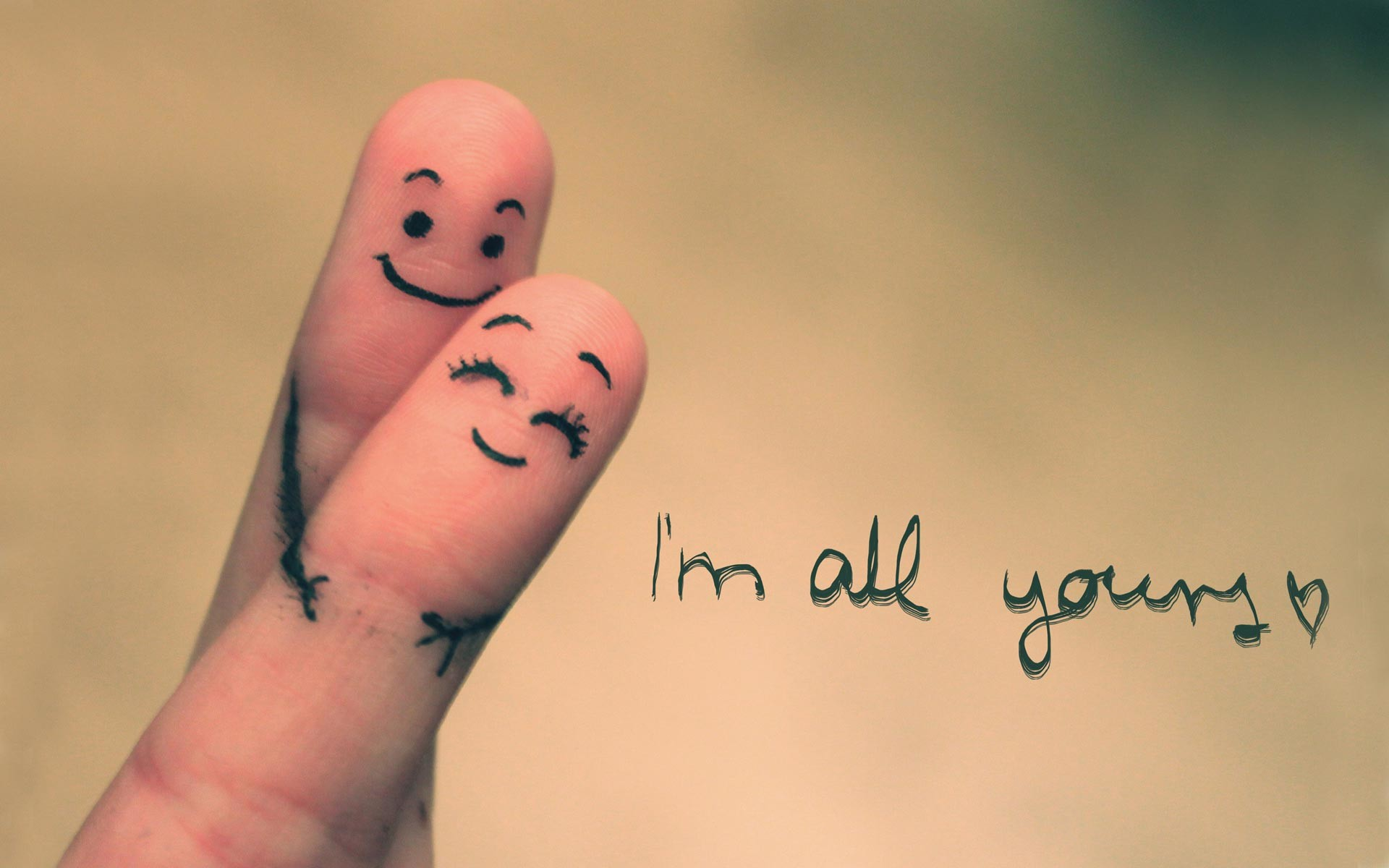 I'm all yours wallpapers and stock photos