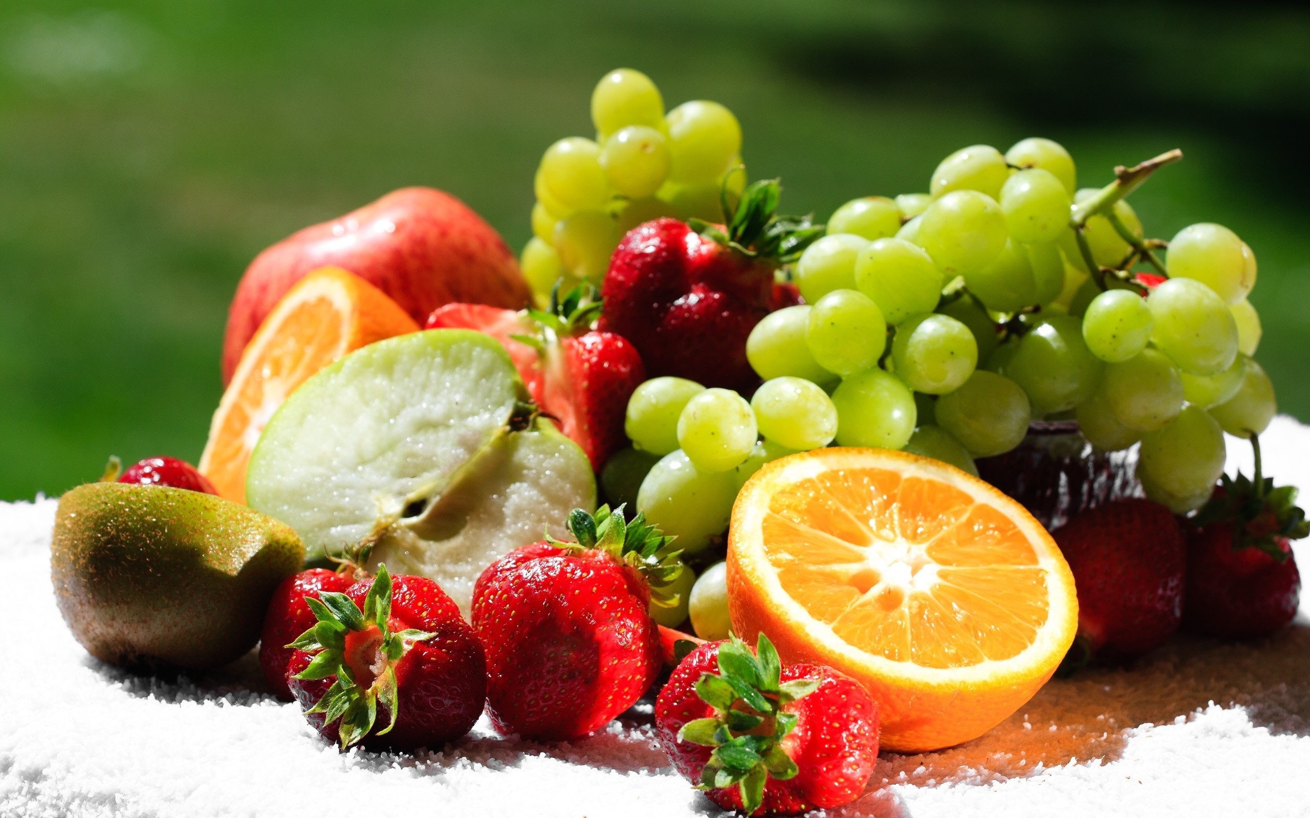 Free fruit platter wallpaper background