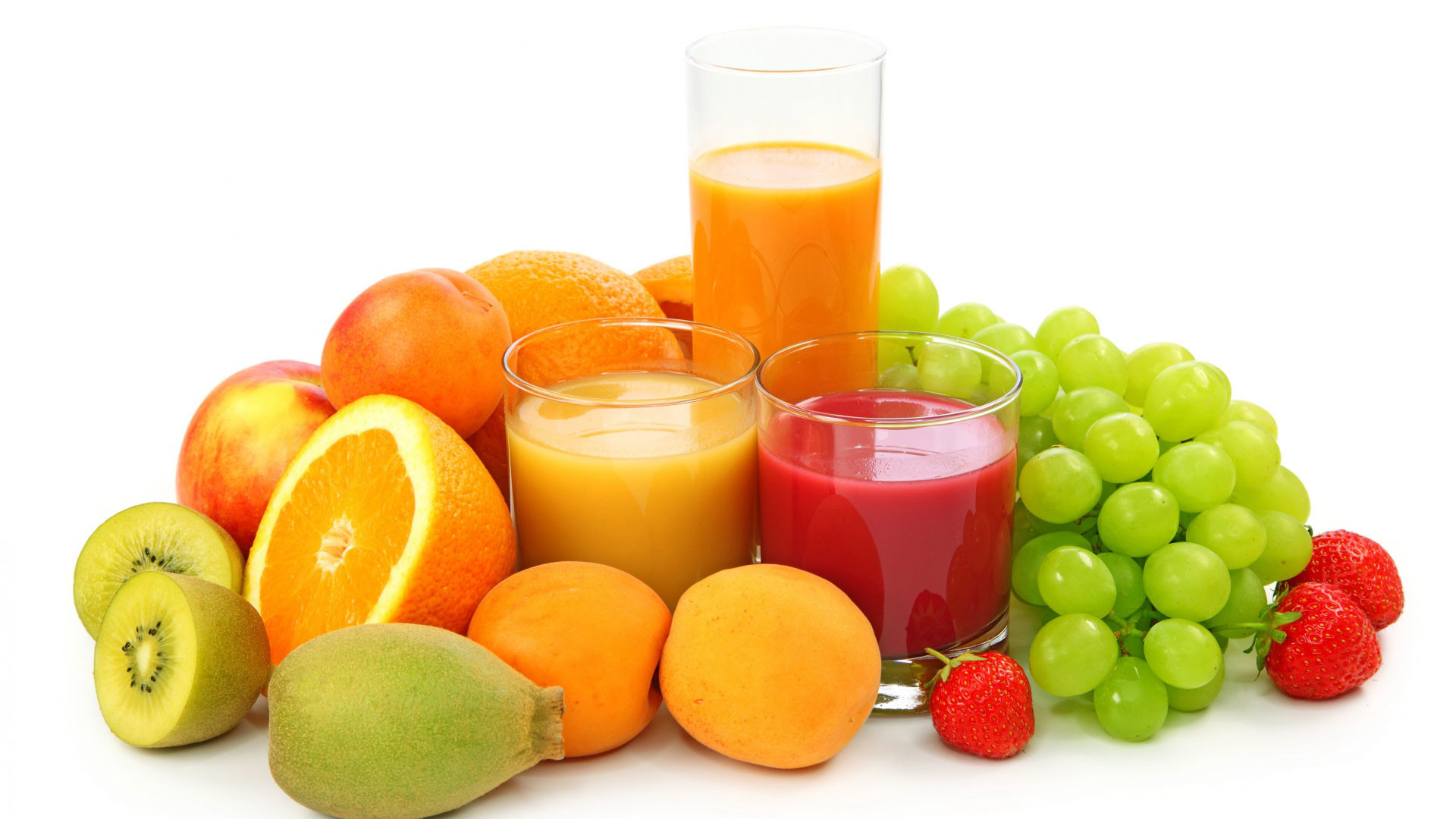 hd pics photos fruits mixed juice glasses desktop background wallpaper