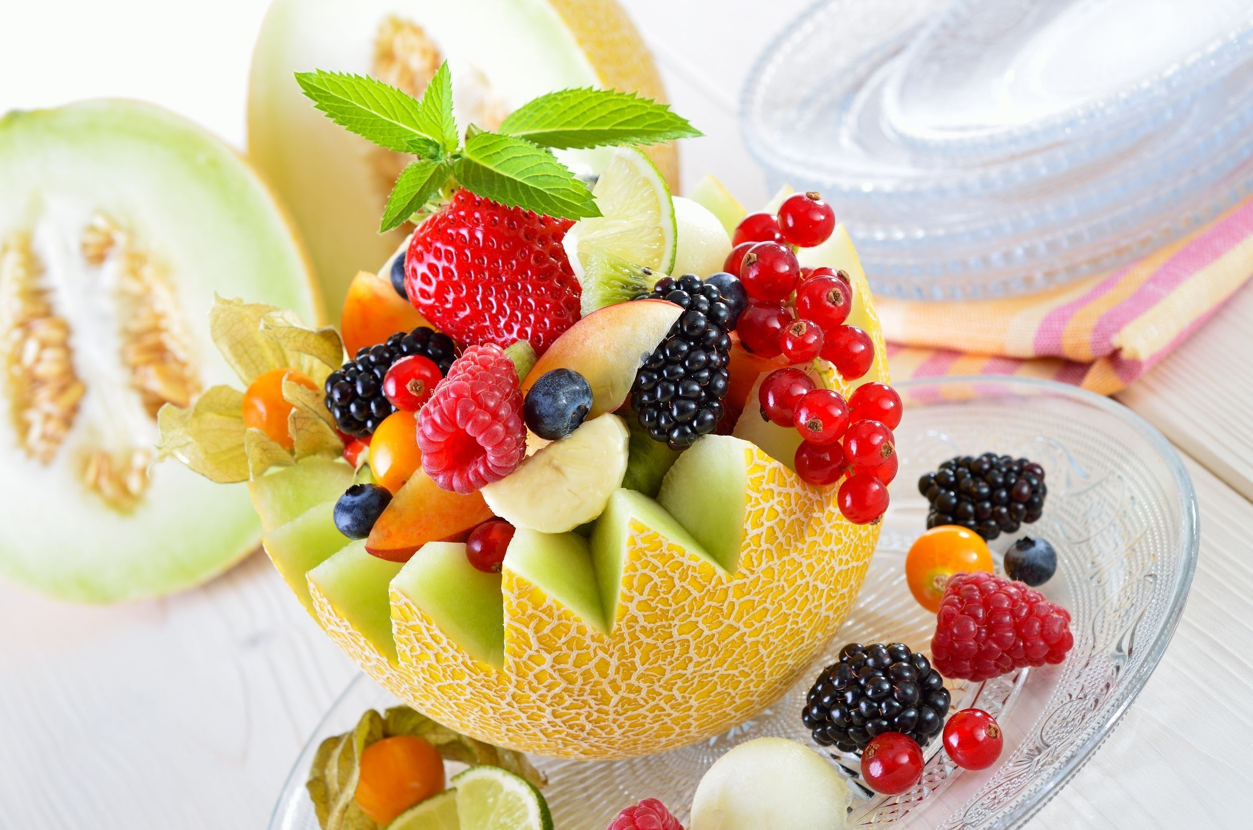 Fruit Salad in Malon Wallpaper