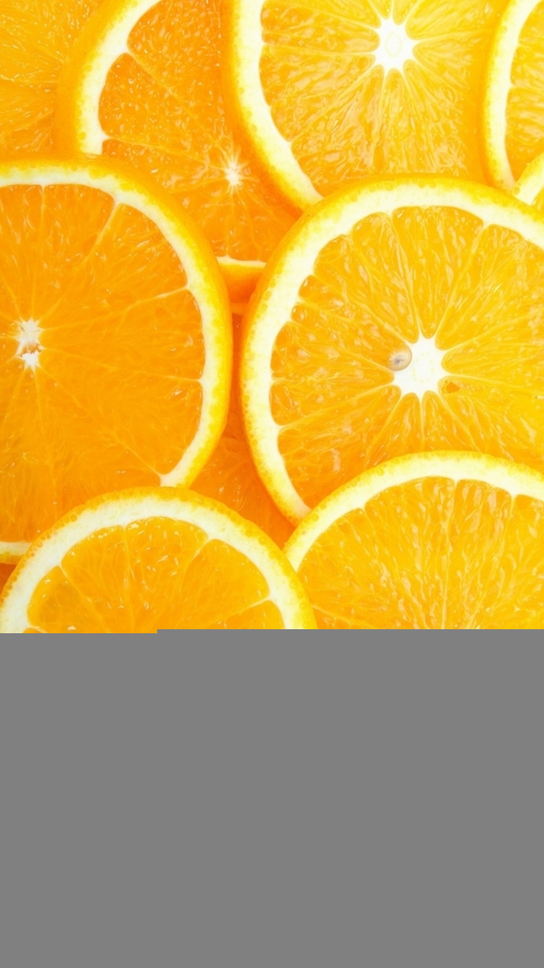 Fruit Orange Slice Overlap Background iPhone 8 wallpaper