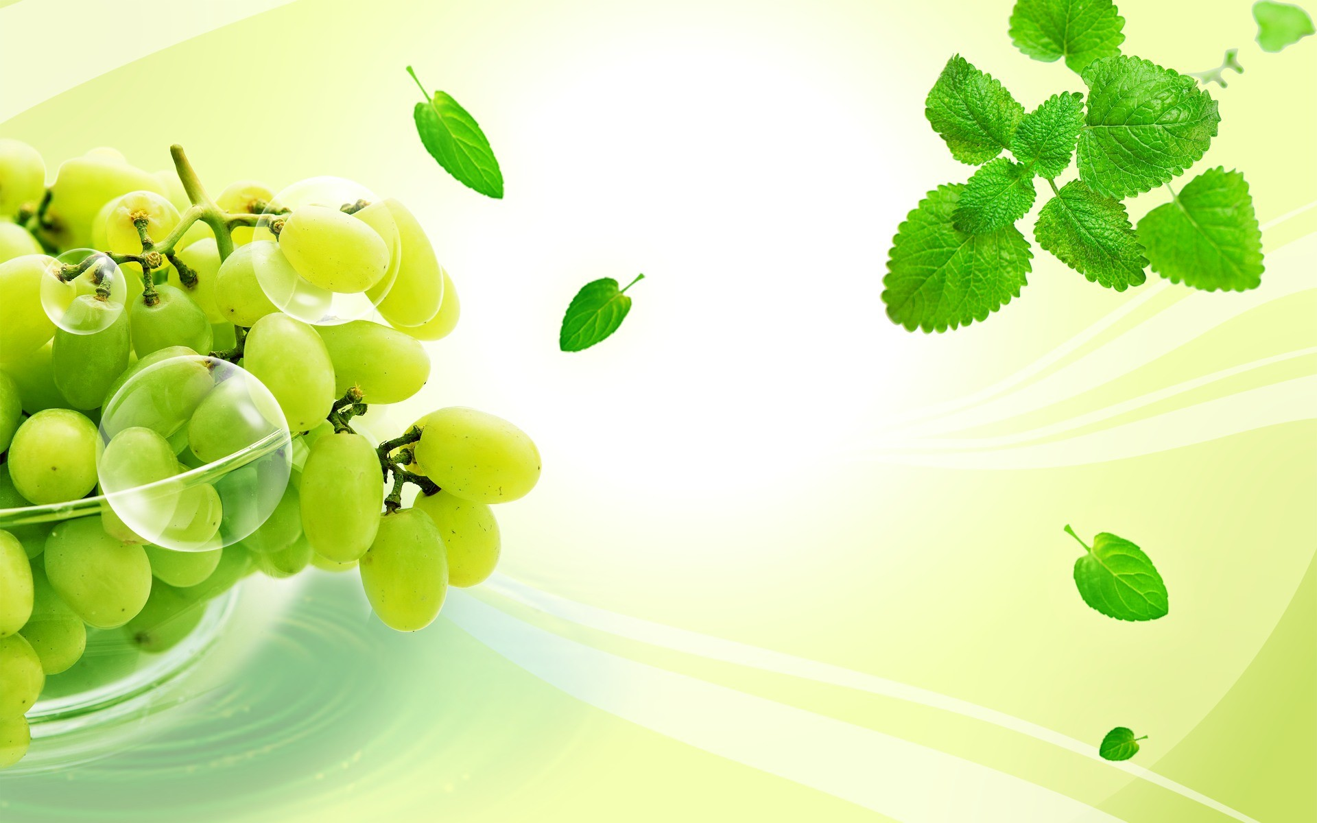 Wallpaper Grapes Food Fruit