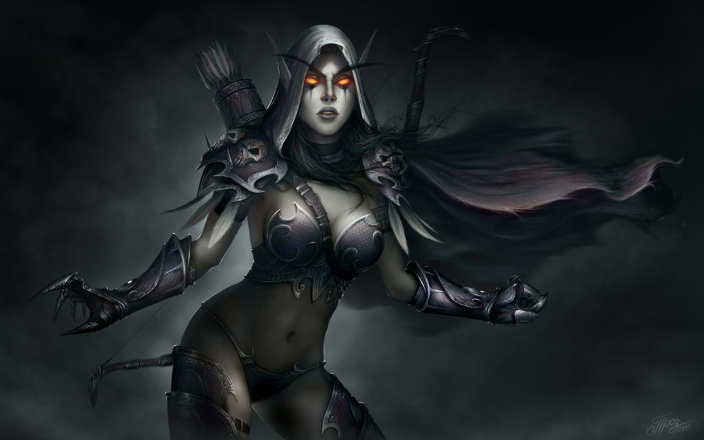 28 Sylvanas Windrunner HD Wallpapers   Backgrounds – Wallpaper Abyss
