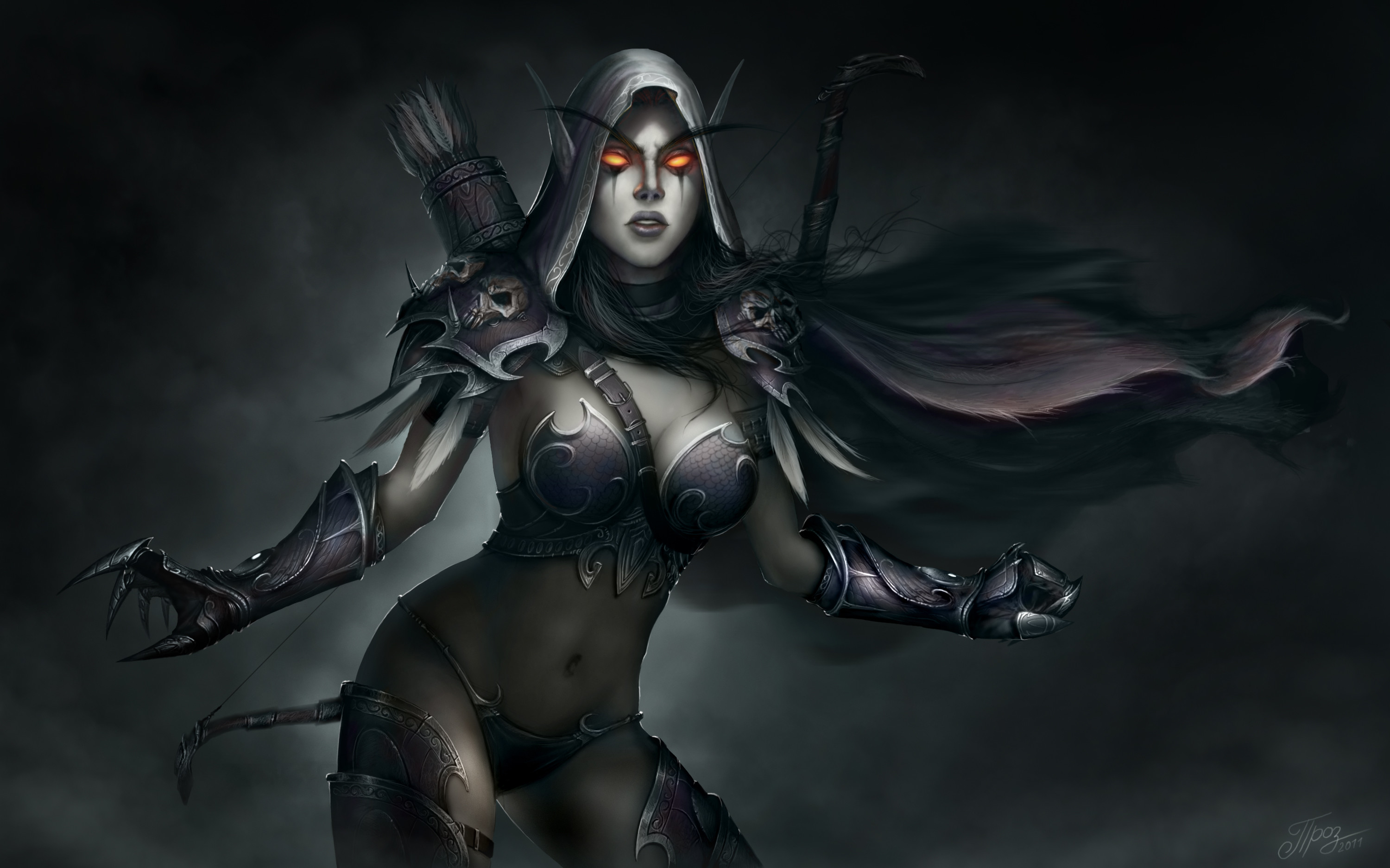 28 Sylvanas Windrunner HD Wallpapers | Backgrounds – Wallpaper Abyss