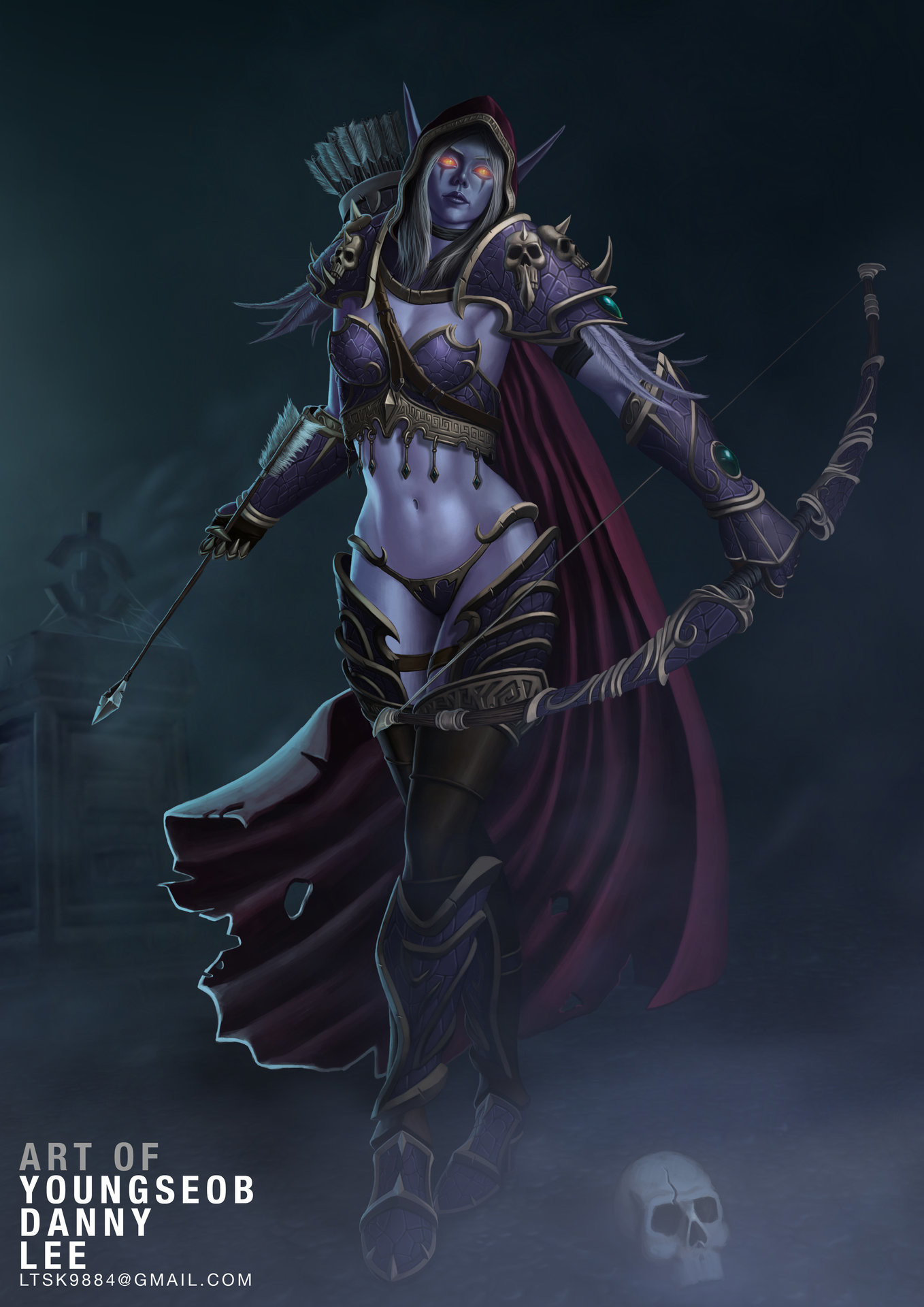 Lady Sylvanas Windrunner, Queen Of The Forsaken | WoW Amino